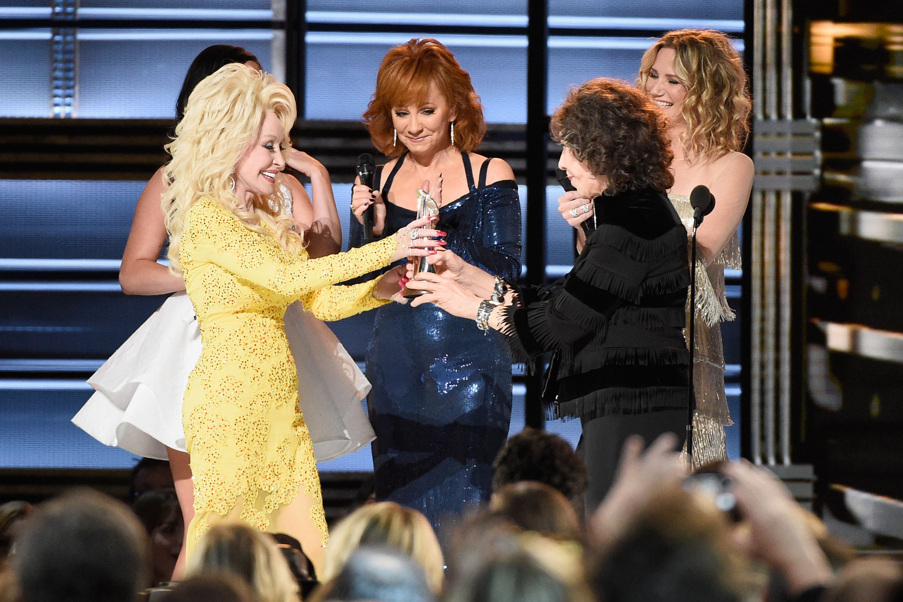 Winners from the 50th Annual CMA Awards