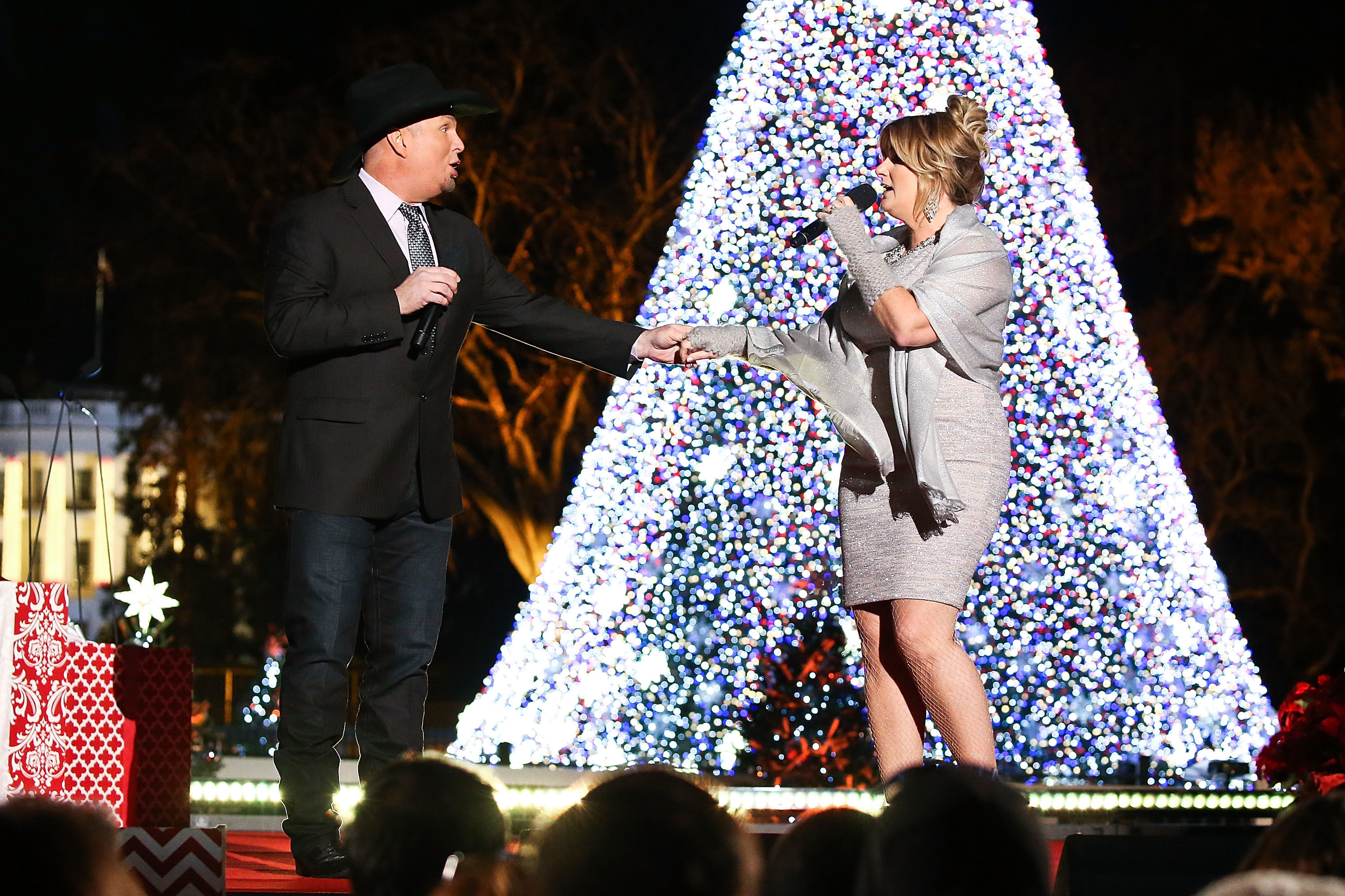 Garth Brooks and Trisha Yearwood Don't Let Their Busy Schedules Get In The Way of a Beloved Christmas Family Tradition