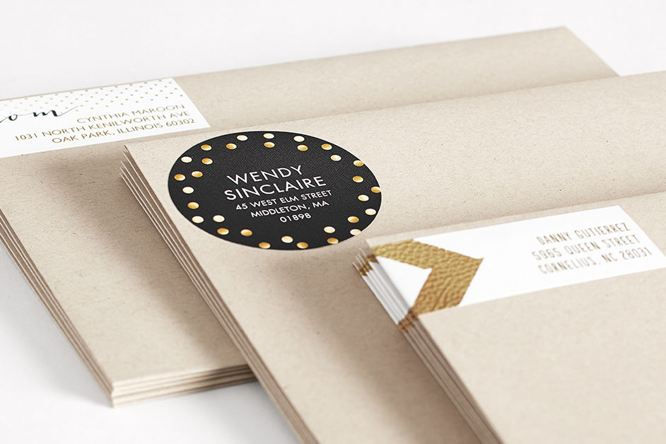 Acts of Gratitude: Send Address Labels