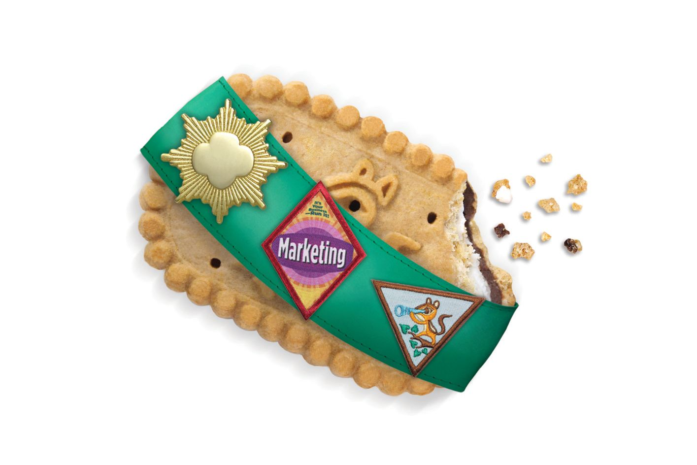 New S'mores Girl Scout Cookies Are Here to Celebrate 100 Years of Profitable Cookies