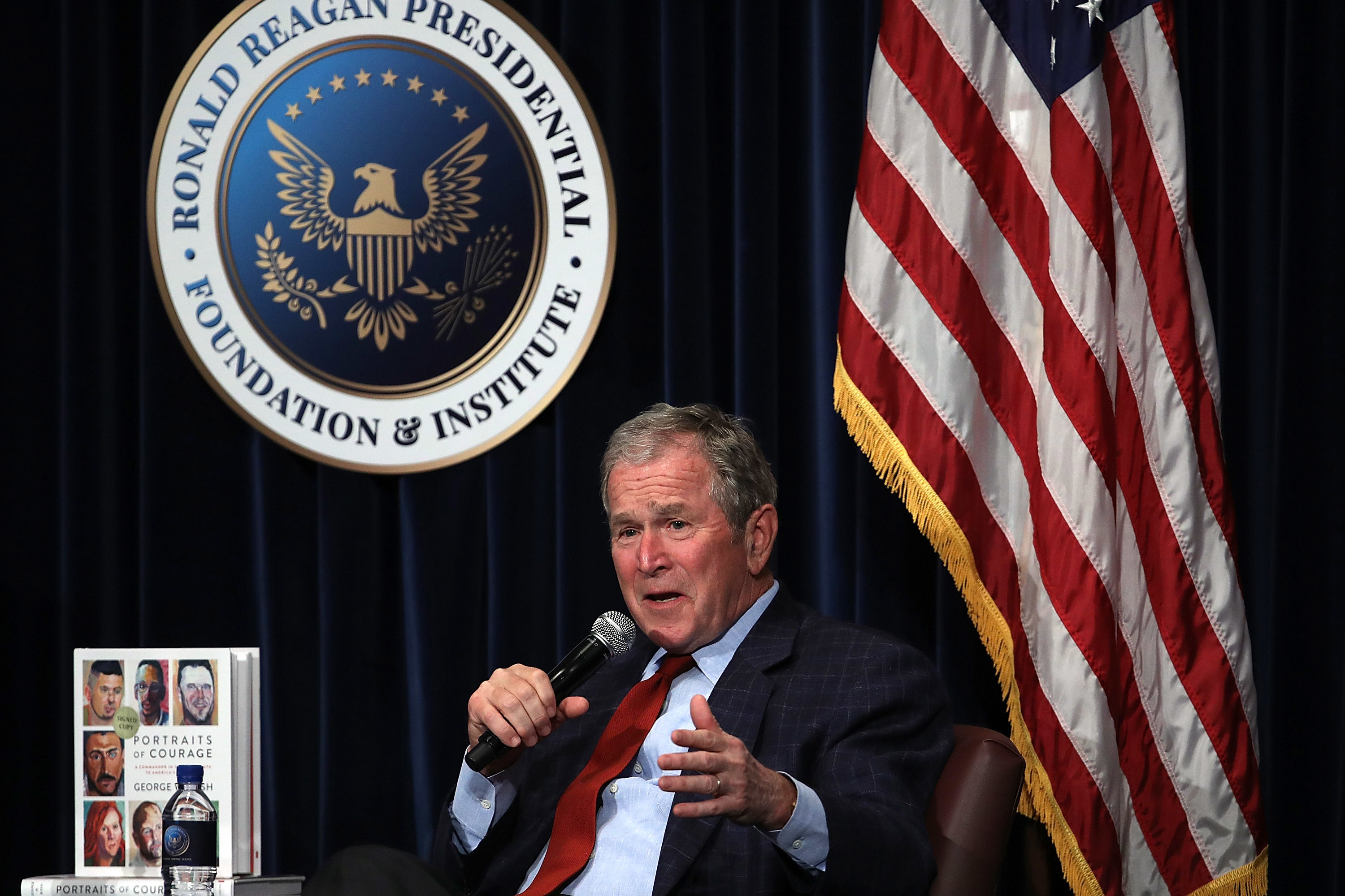 The Moving Paintings from George W. Bush's Portraits of Courage Are On Display Now in Dallas