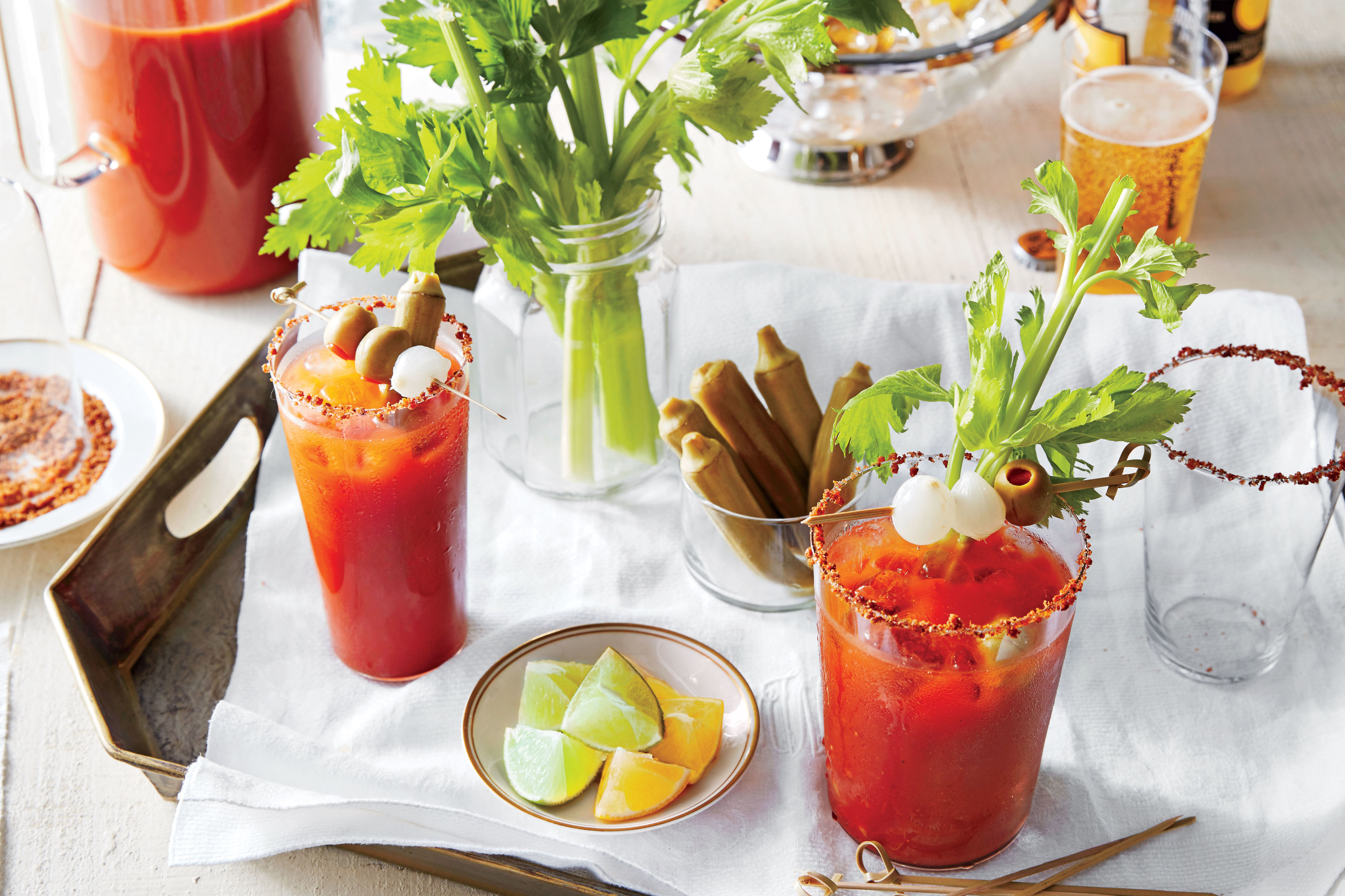 Here's How To Build Your Own Bloody Mary Bar