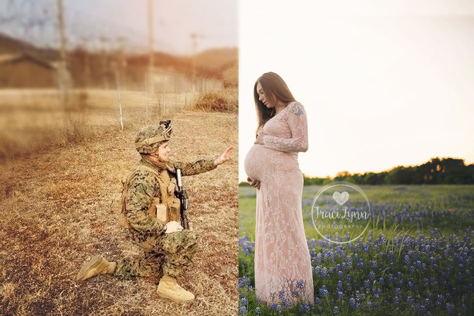 You Must See This Emotional Texas Maternity Photo Shoot
