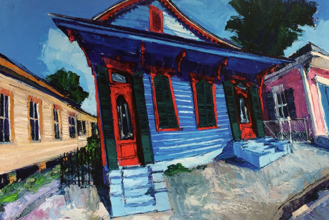 James Michalopoulos Looks Back on 36 Years of Painting New Orleans