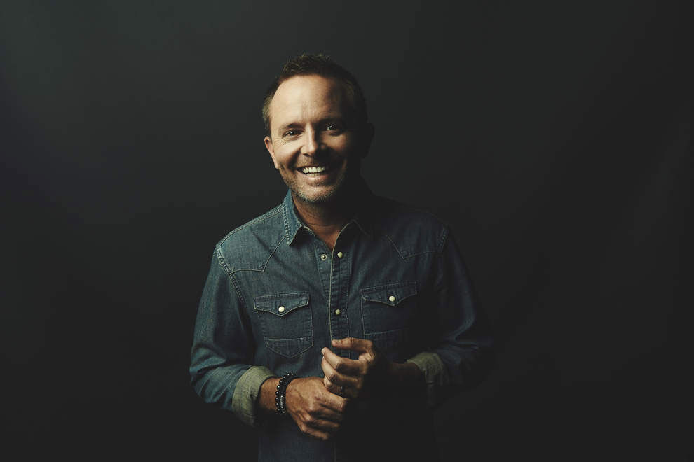 "Chris Tomlin Talks Growing Up in Texas and Filming  ""Home"" Music Video"