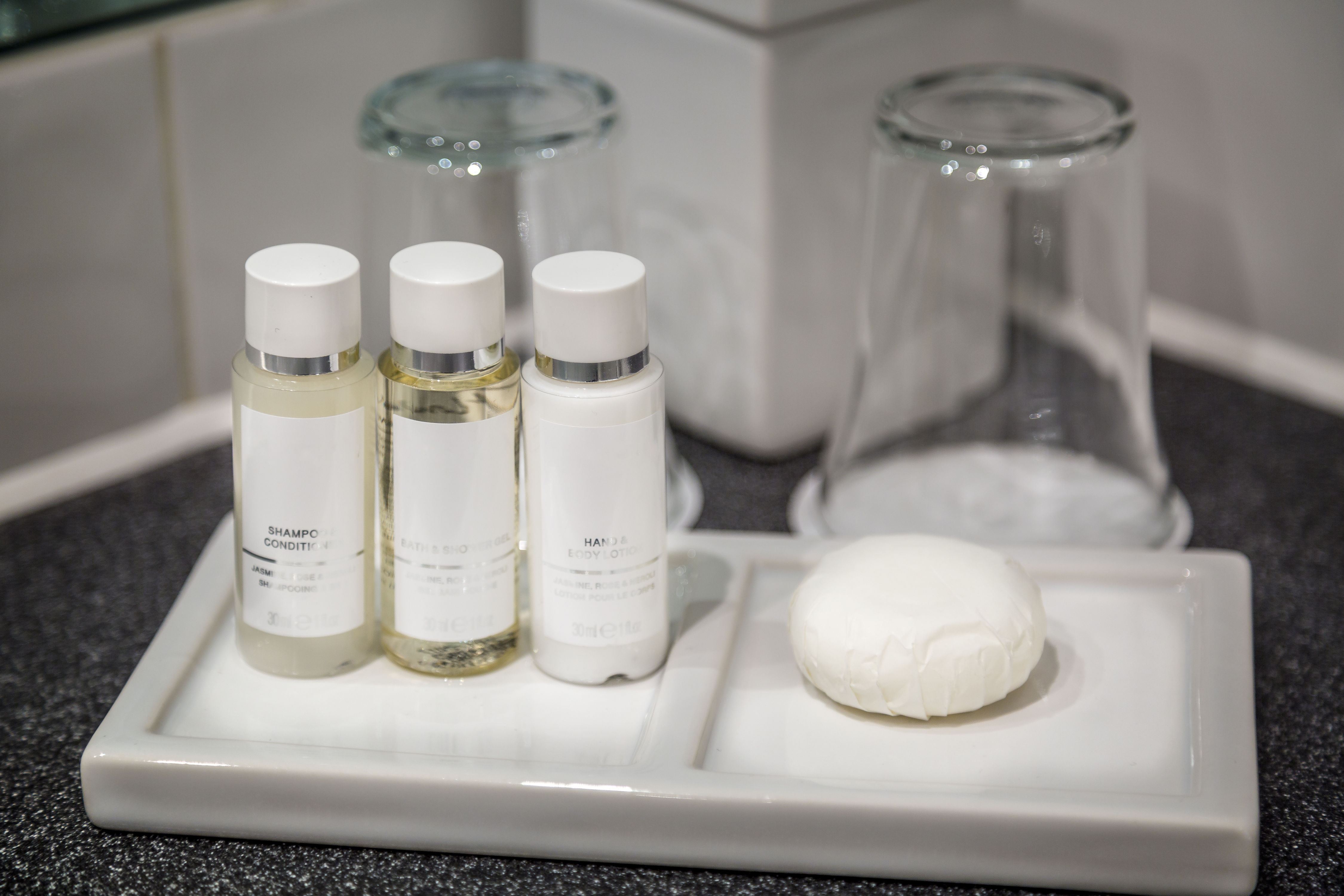 Here's What Happens To Leftover Hotel Soap