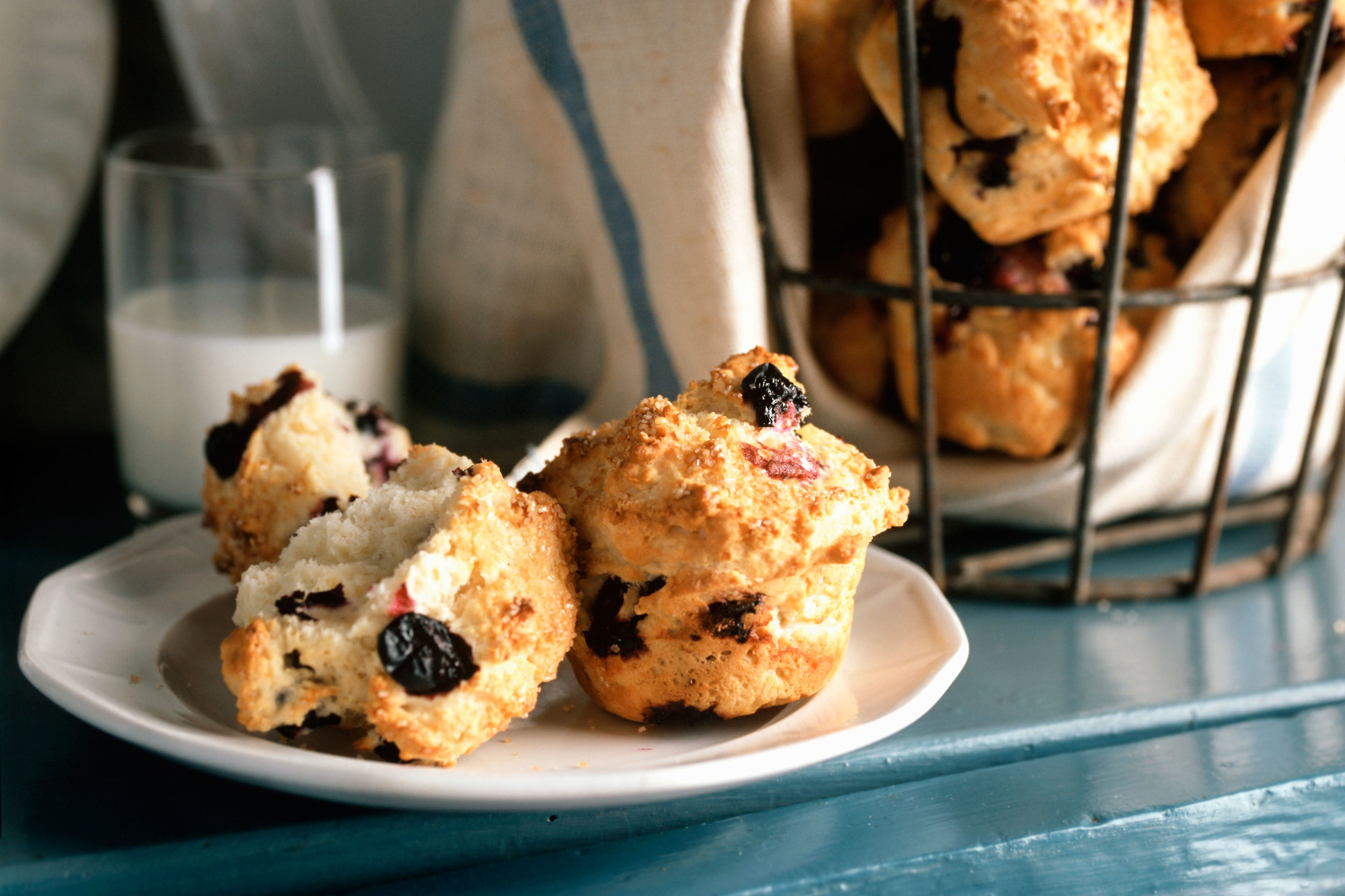 Why Southerners Love Berry Muffins