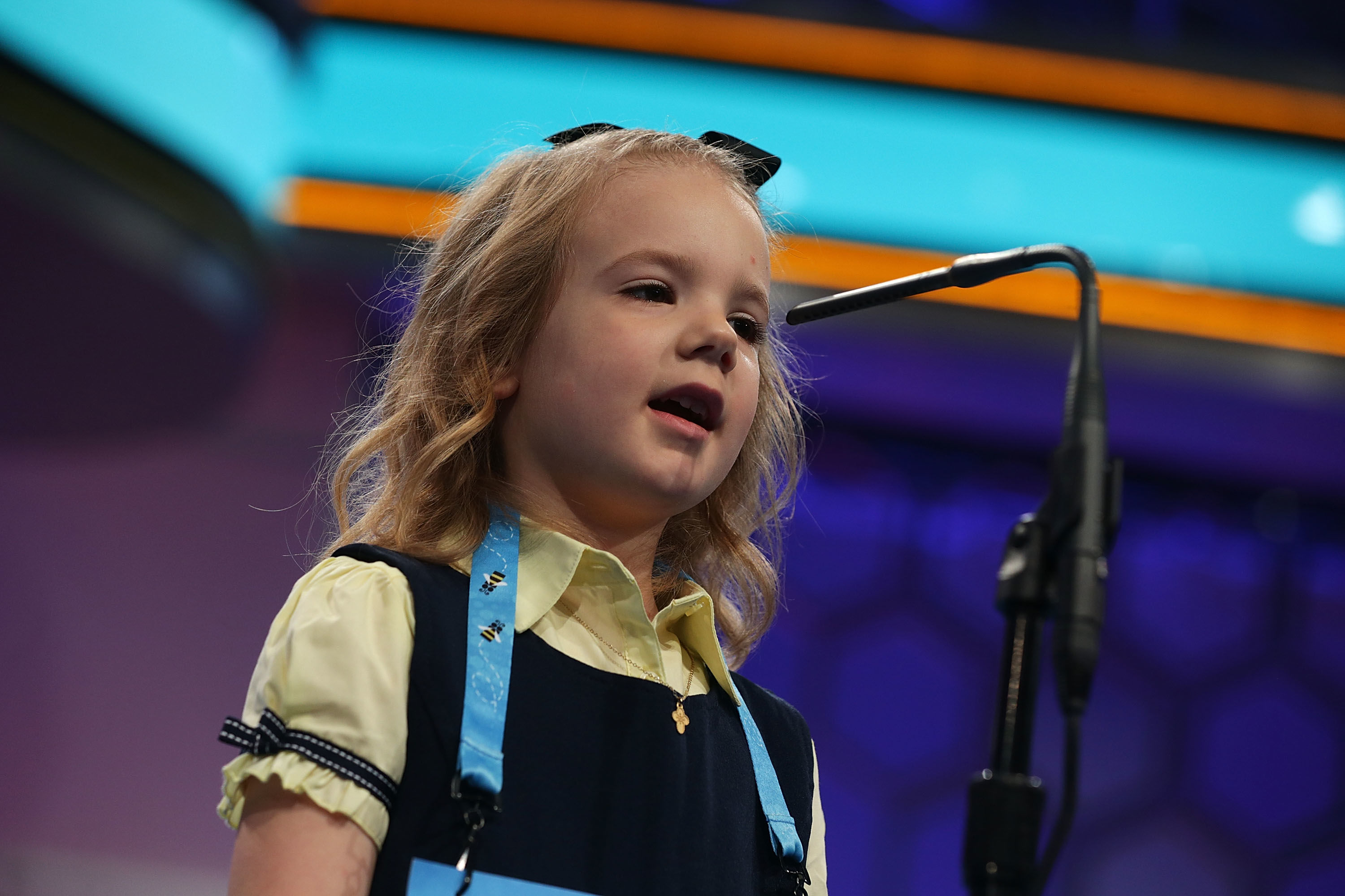 Adorable 6-Year-Old From Oklahoma is The Youngest Contestant to Compete in the National Spelling Bee