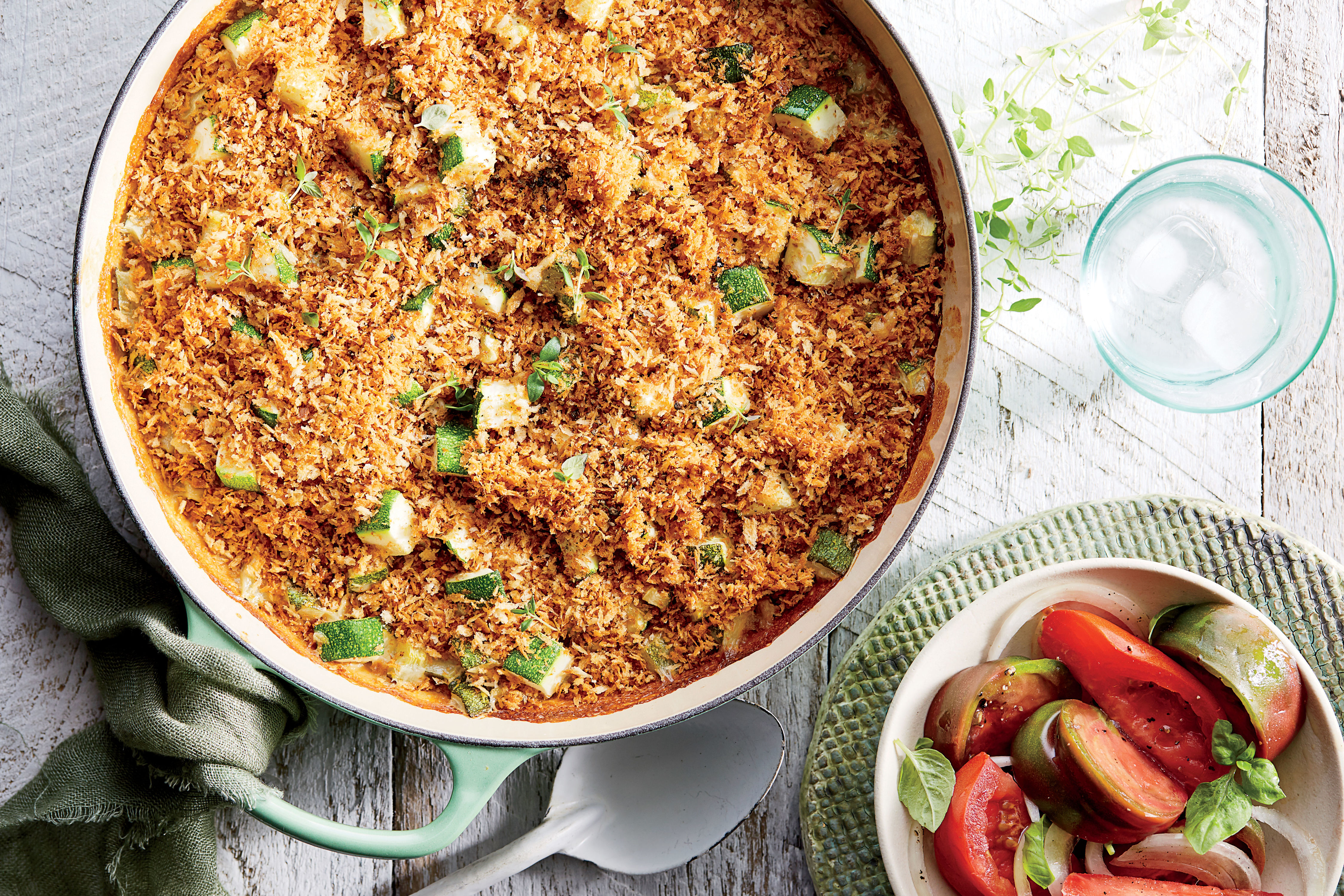 Zucchini Rice Gratin Recipe