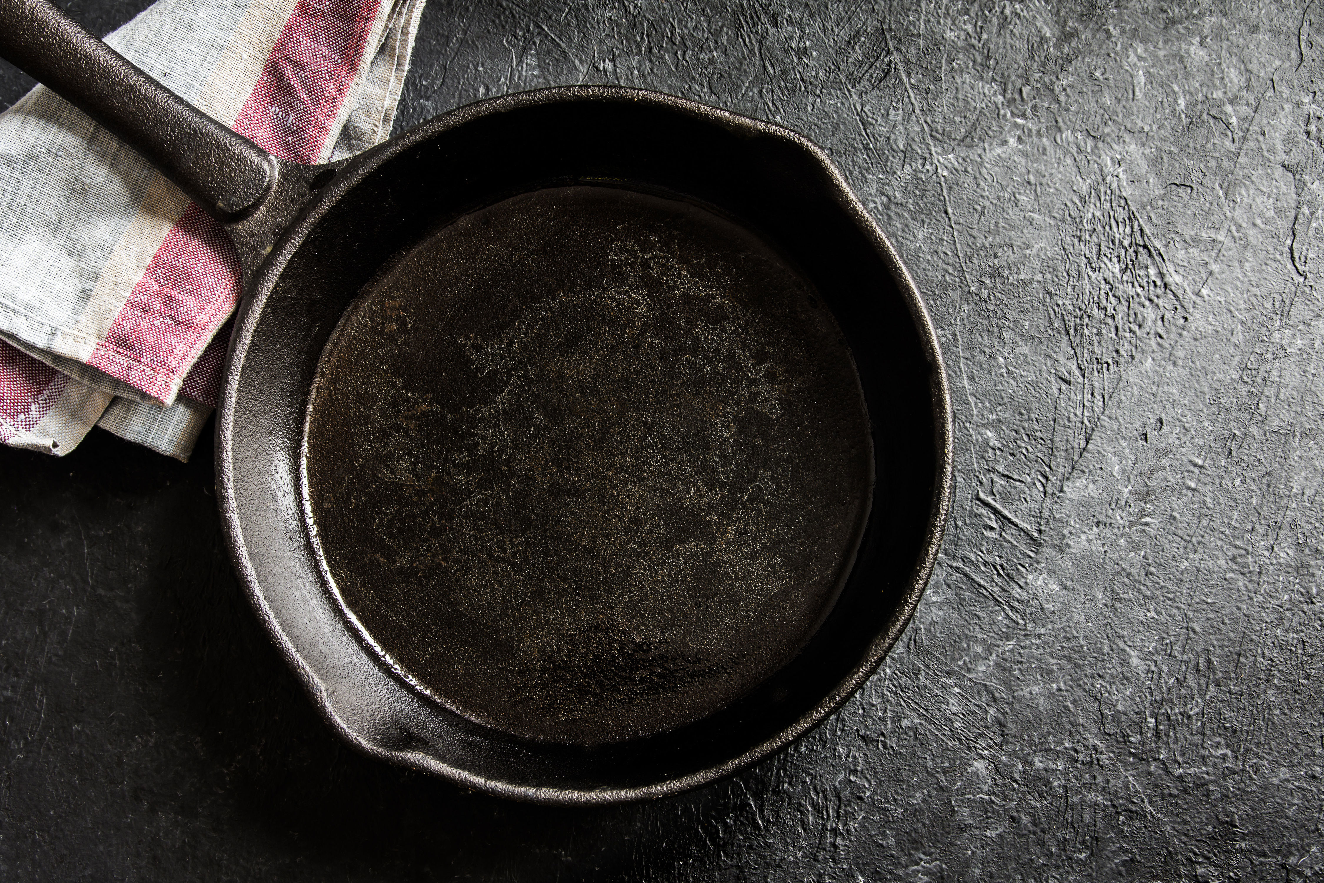 Never Worry About Cleaning Your Cast-Iron Skillet Again with This Simple Trick