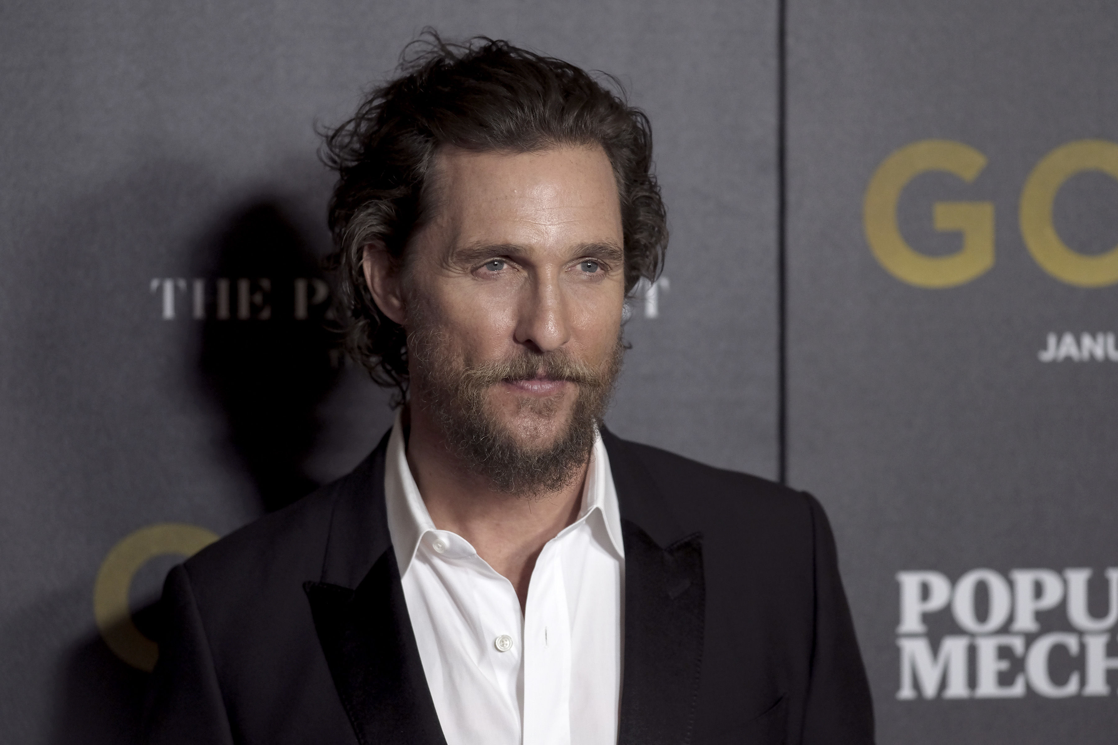 Matthew McConaughey Reveals the Serendipitous Story Behind Son Levi's Biblical Name