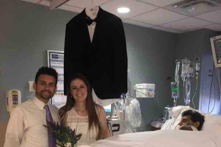 Tampa Bride Held Wedding in Hospital So Her Sick Father Could Attend
