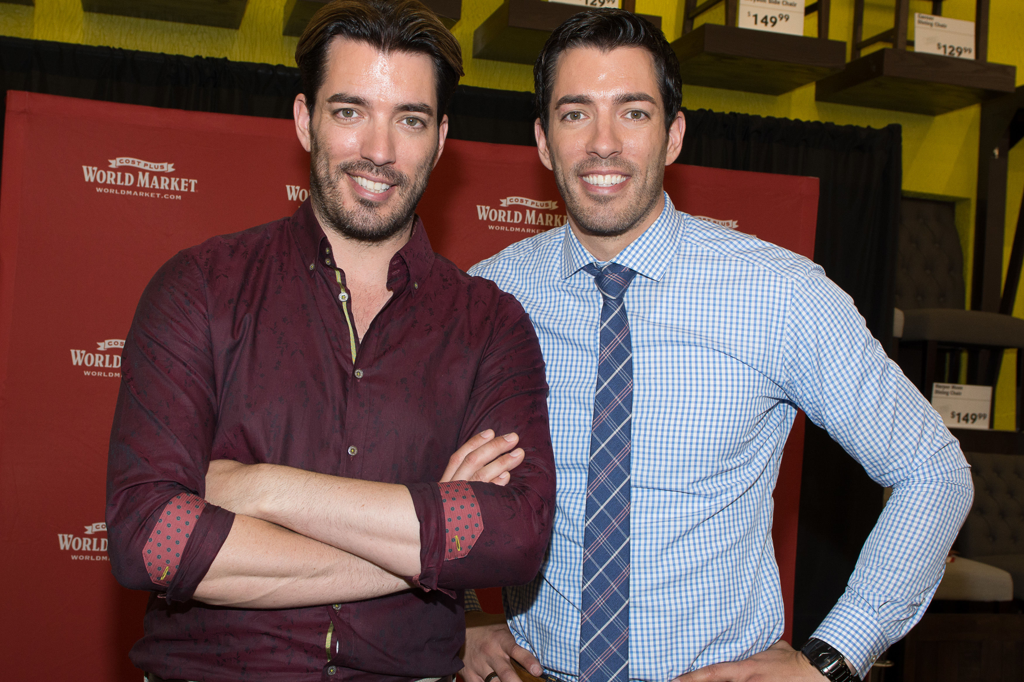 The Property Brothers Reveal Their Genius Tip for Transforming a Blah Staircase