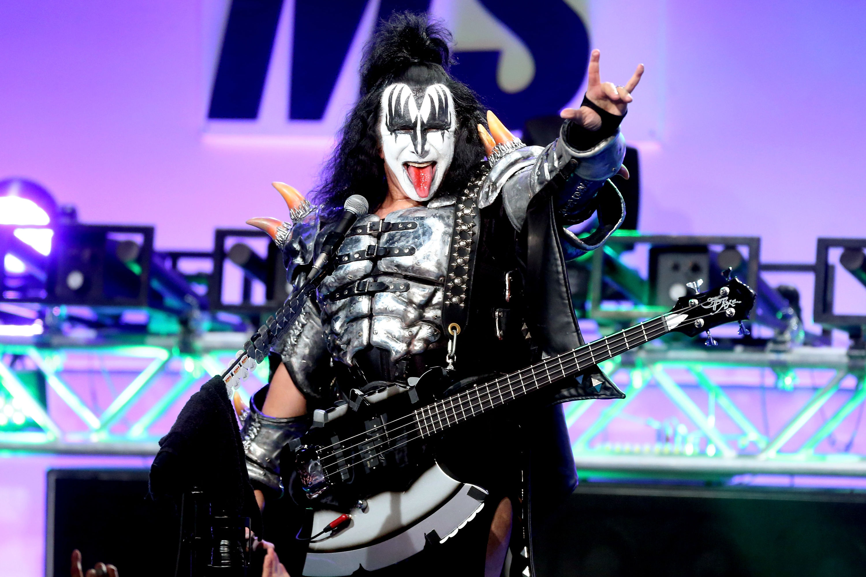 We May Have Found the Most Adorable Gene Simmons Look-Alike