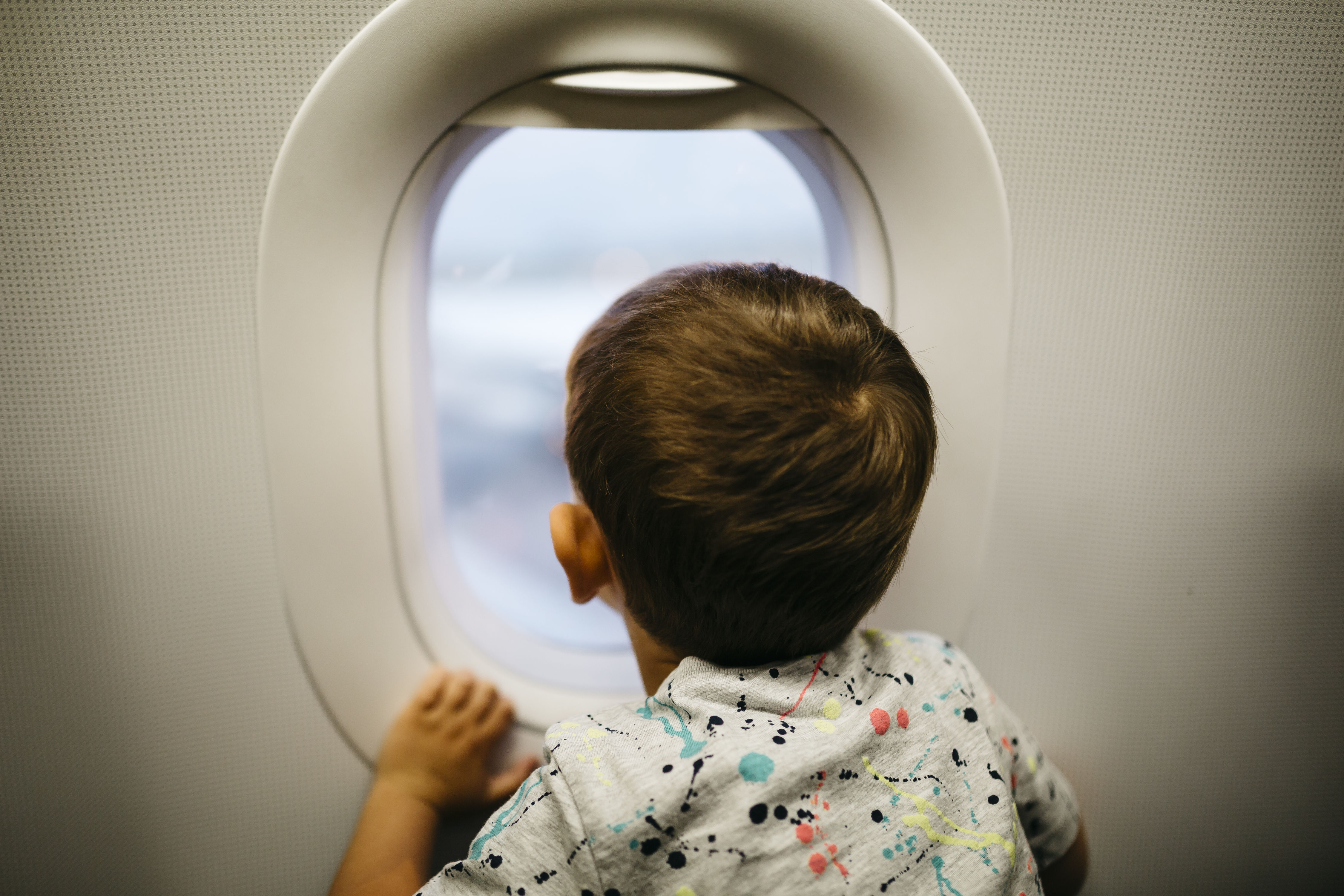 Check Out How This Adorable Toddler Made His Whole Flight's Day