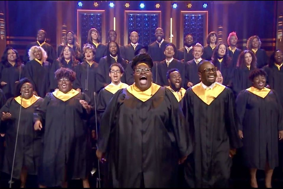 Gospel Singers Who Comforted Harvey Victims Perform 'Lean on Me' on One of TV's Biggest Stages