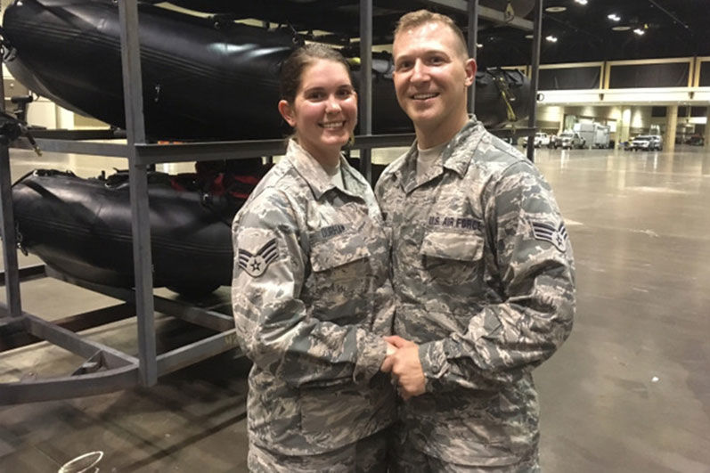 National Guard Couple Cancel Florida Beach Wedding to Help Hurricane Irma Victims