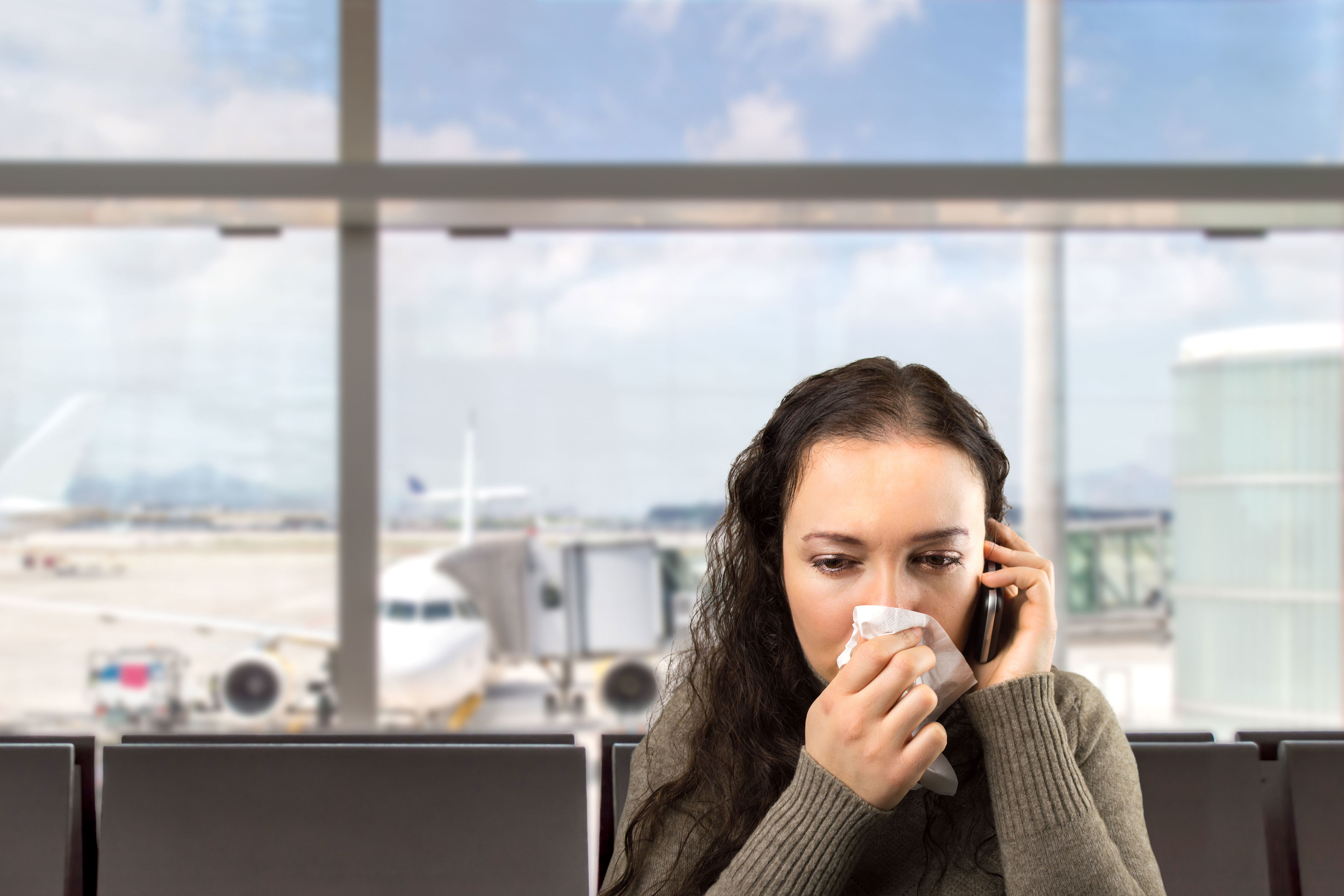 WATCH: Ever Wonder Why You Always Get Sick When Flying?