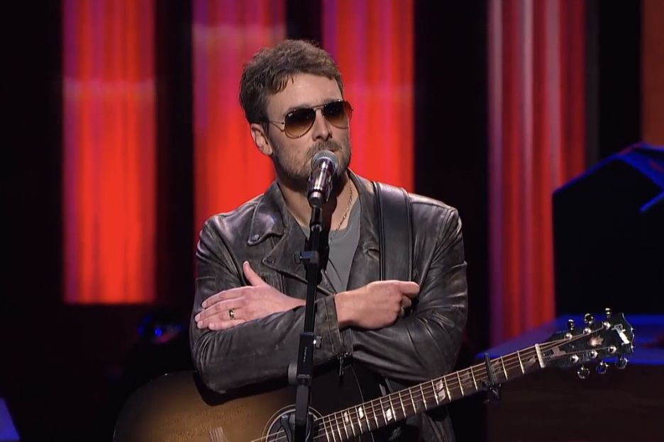 Eric Church Honors Harvest Festival Victims With Powerful Speech at Grand Ole Opry