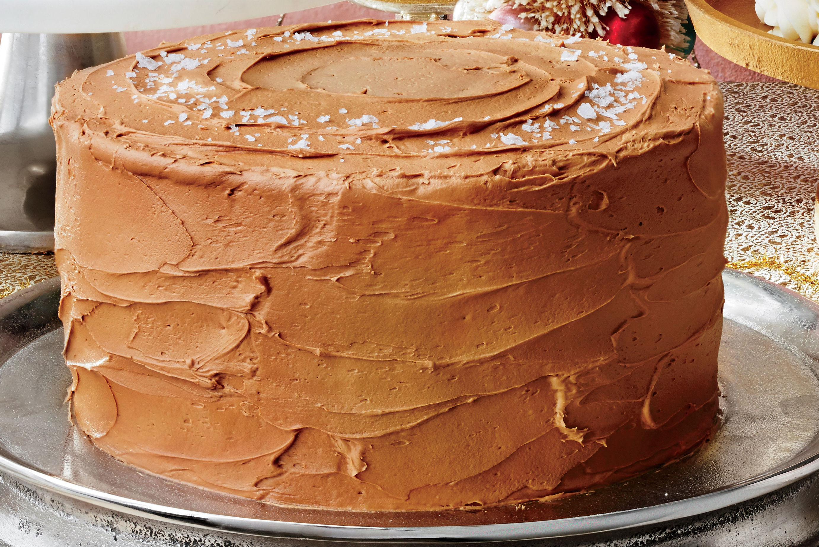 Sea Salt-Caramel Cake Recipe