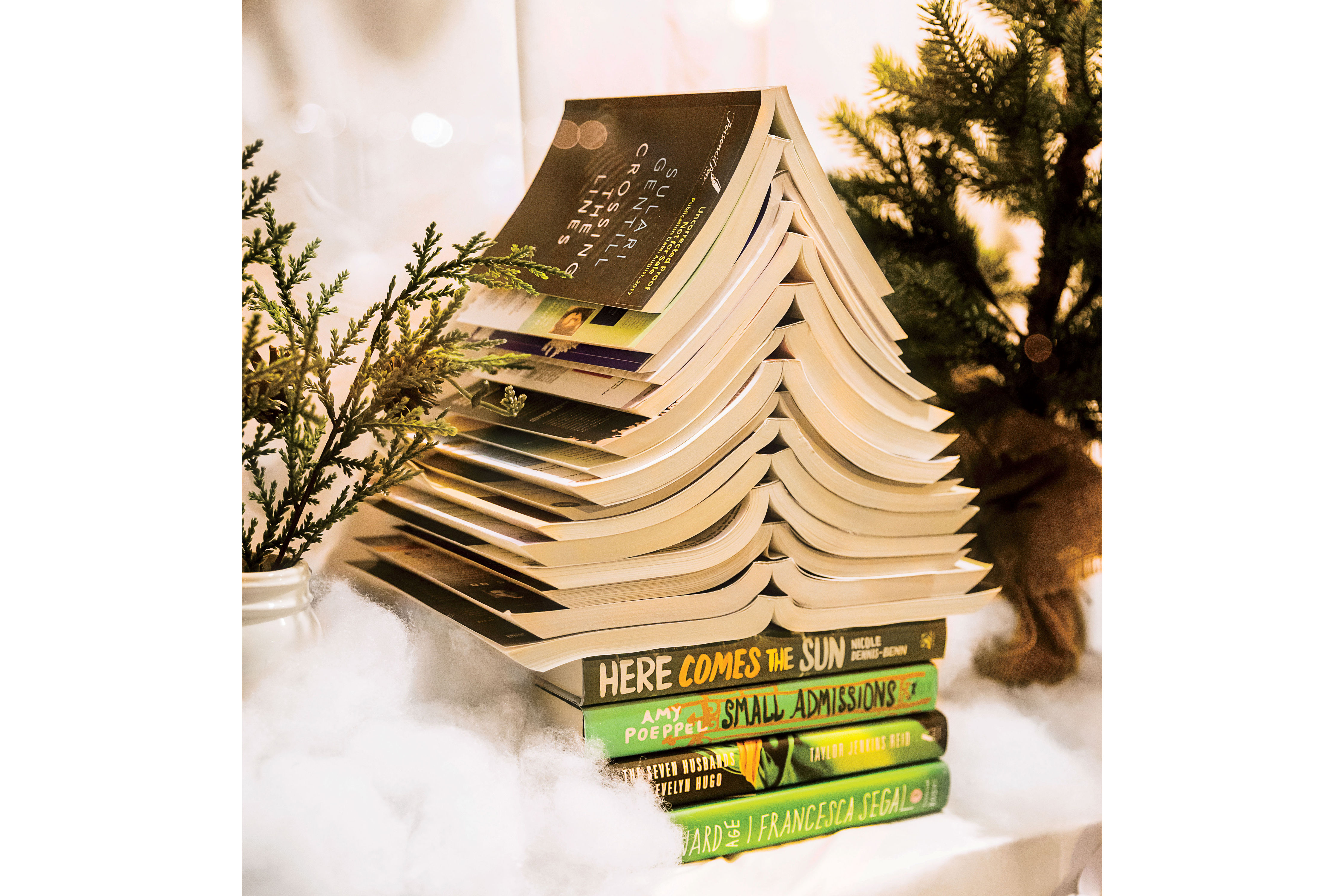 WATCH: The Book Christmas Tree Is a Trend – And We Love It!
