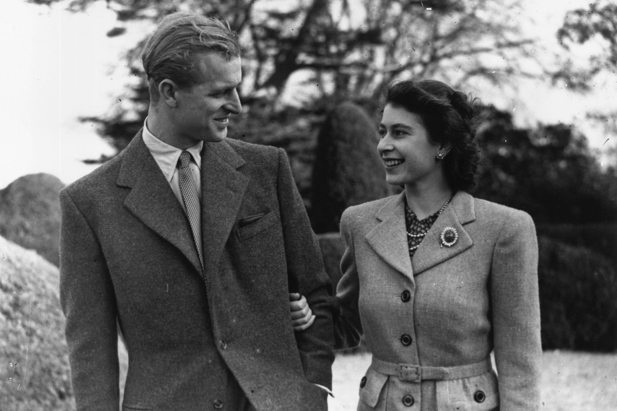The Surprising Story Behind Queen Elizabeth and Prince Philip's Recreated Honeymoon Photo