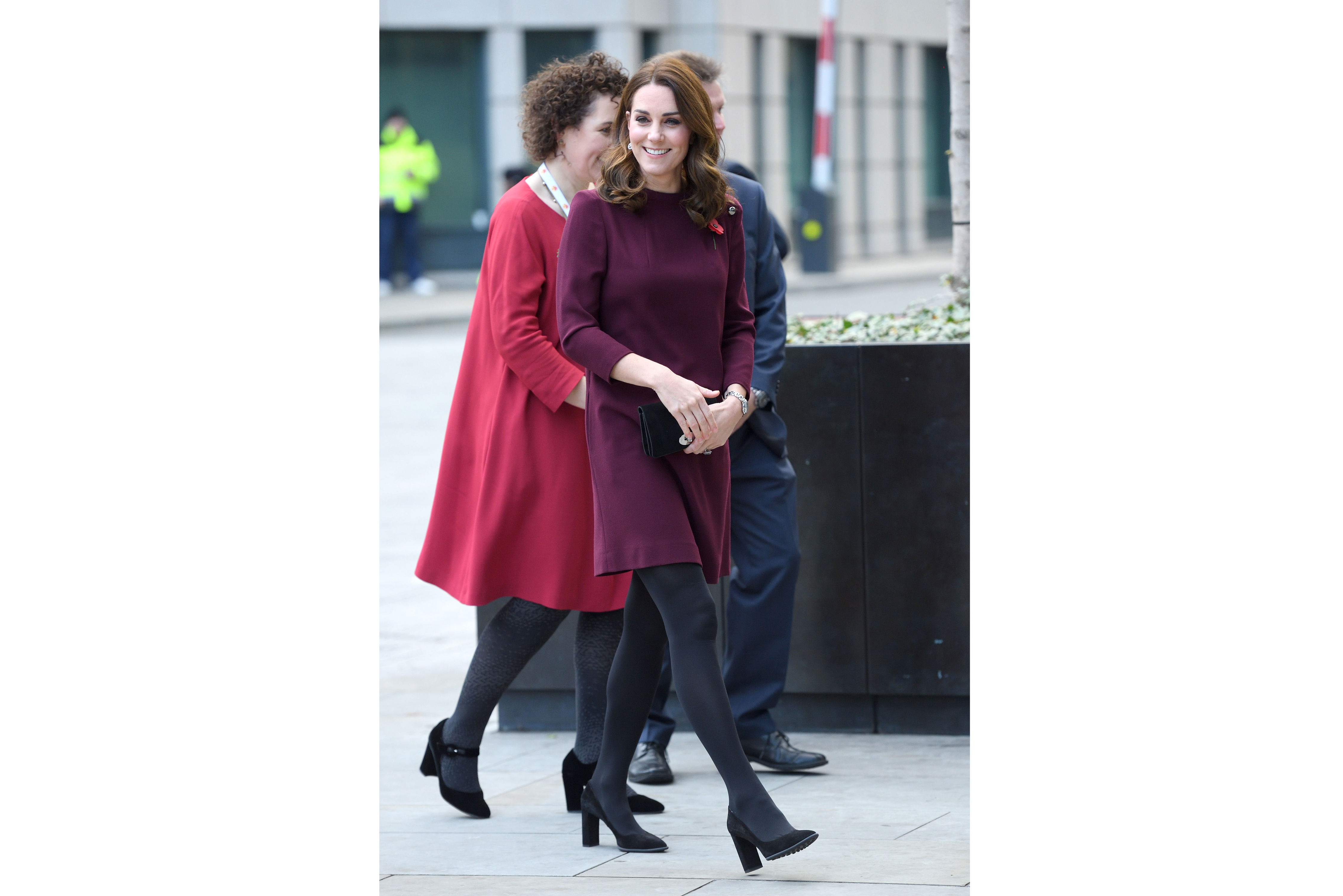 Kate Middleton's Pricey Wine-Colored Tunic Dress Is An Instant Classic, So We Found 4 Affordable Lookalikes
