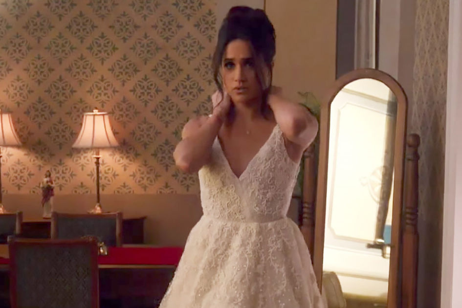 Meghan Markle Says This Famous Bride's Wedding Dress Is 'Everything Goals'
