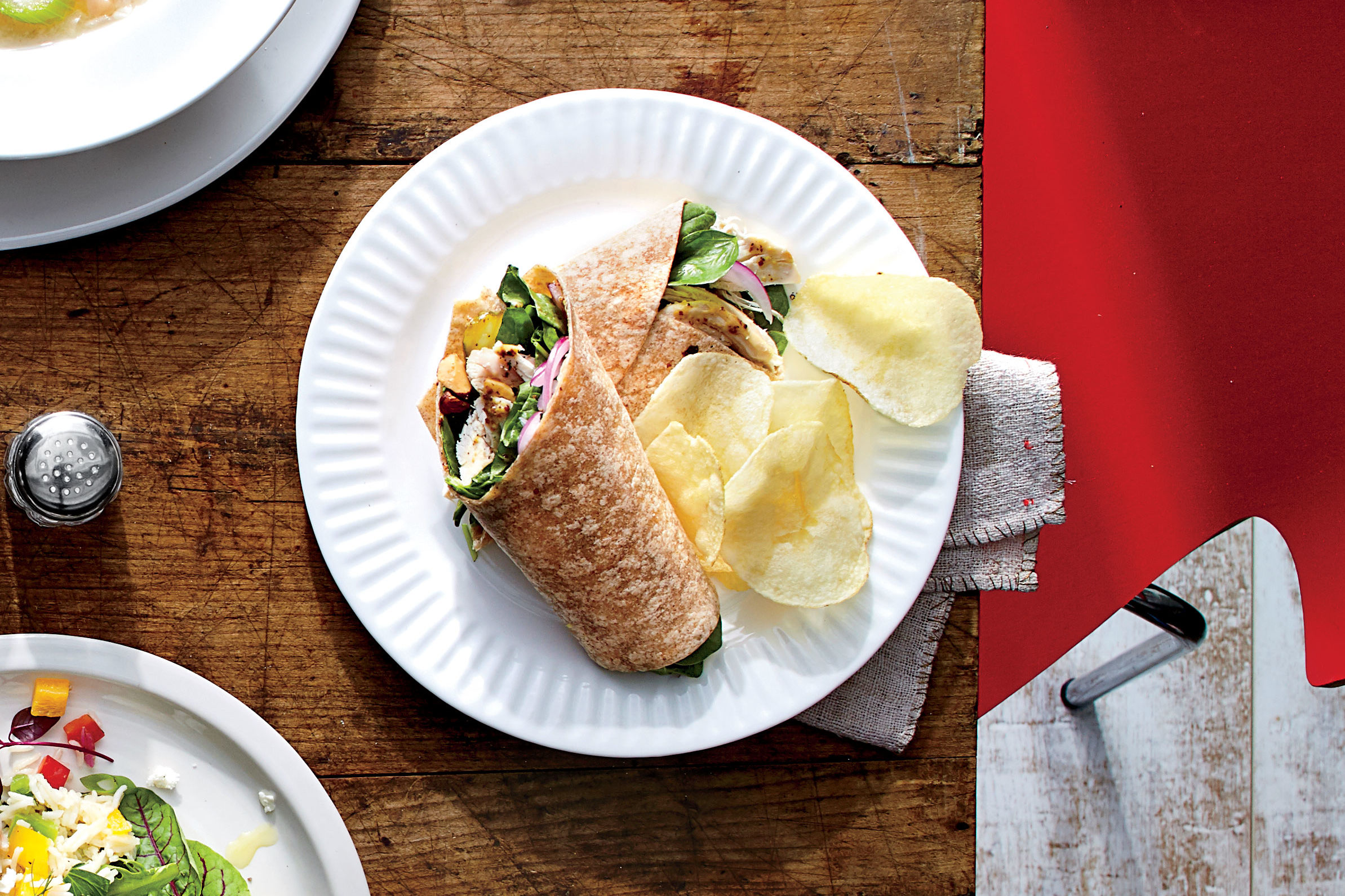 Almond-Chicken Wrap Recipe