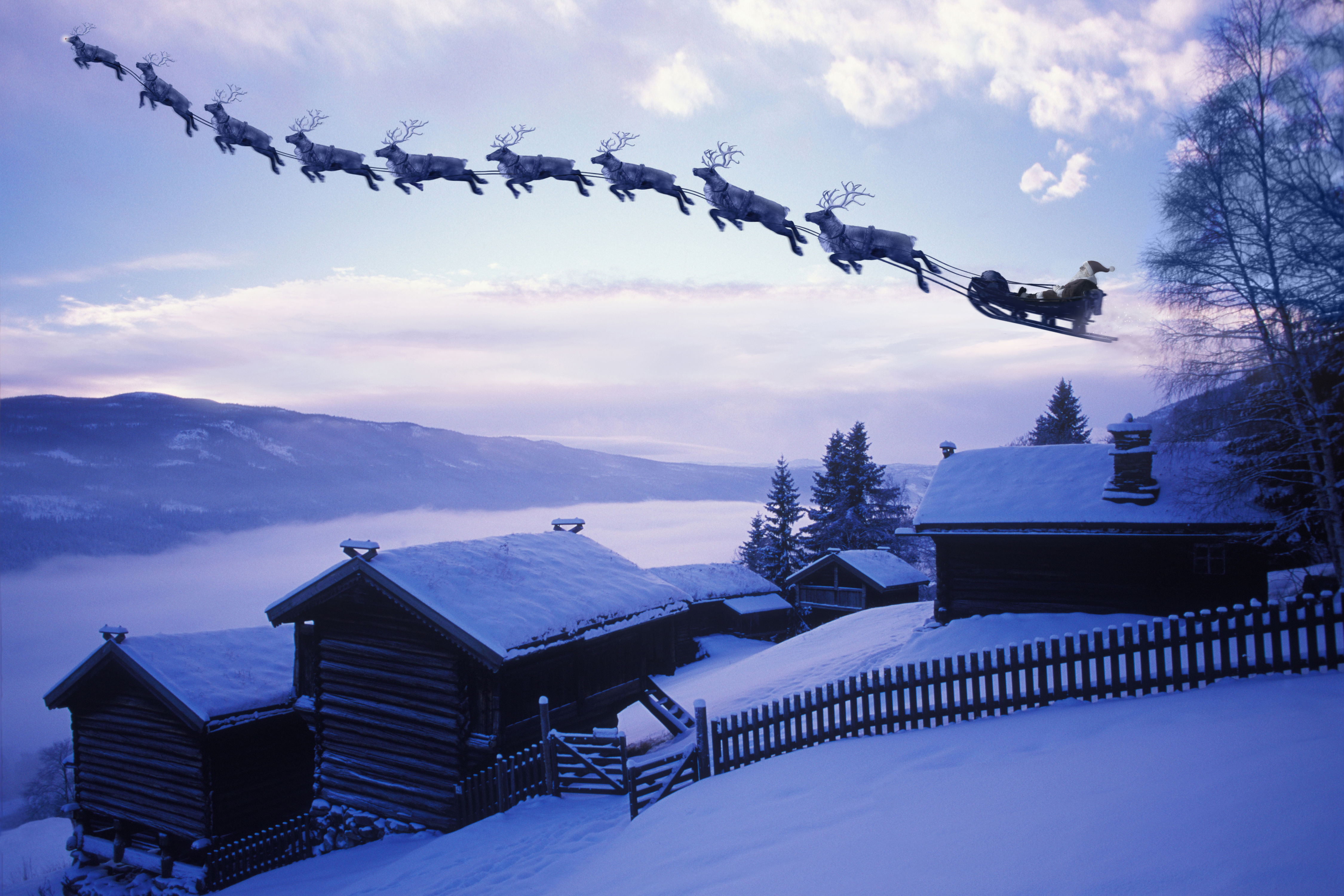 When Is Santa Claus Arriving at Your House on Christmas Eve?
