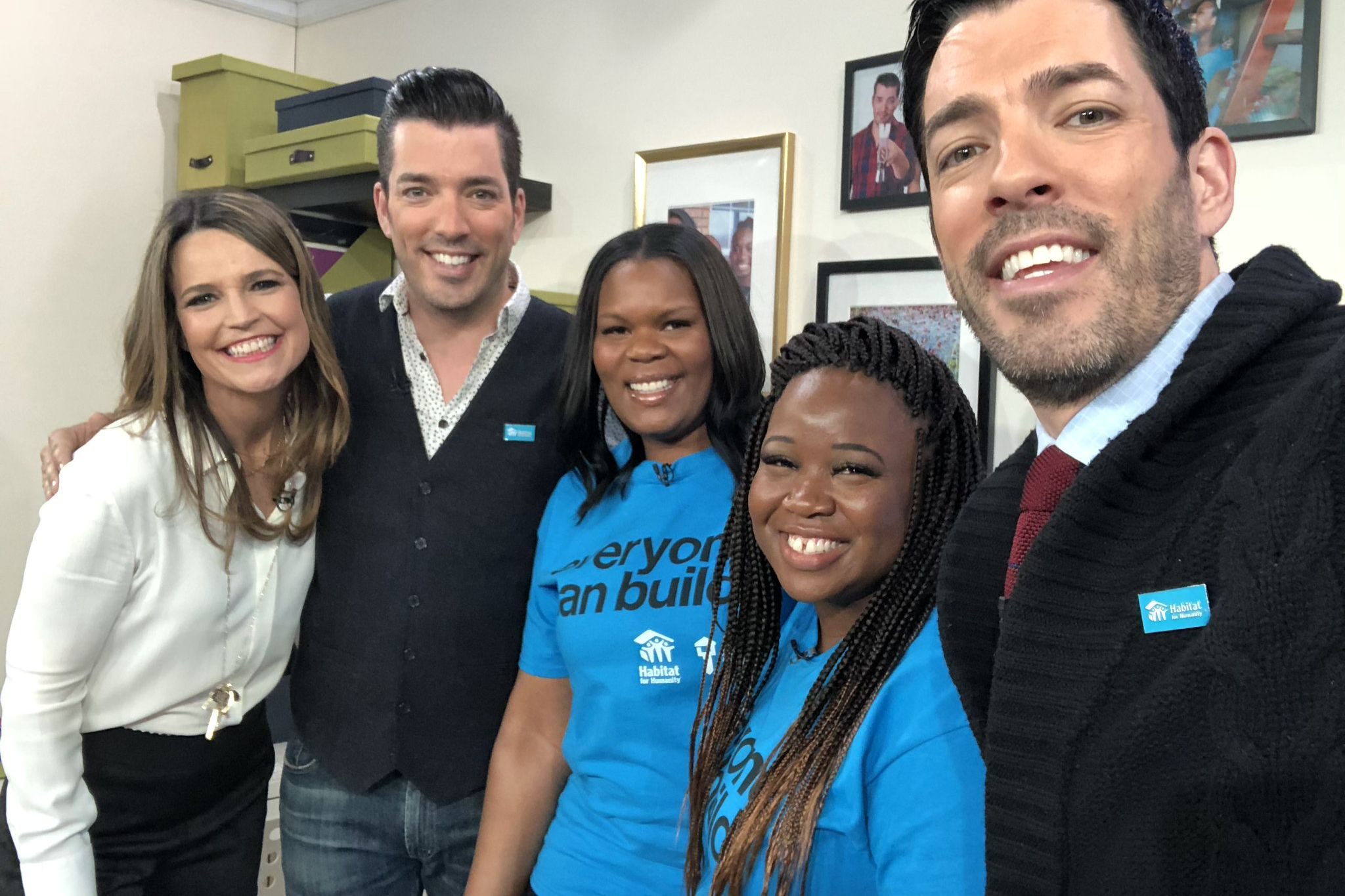 'Property Brothers' Team Up with Habitat for Humanity to Build Two Nashville Moms New Homes