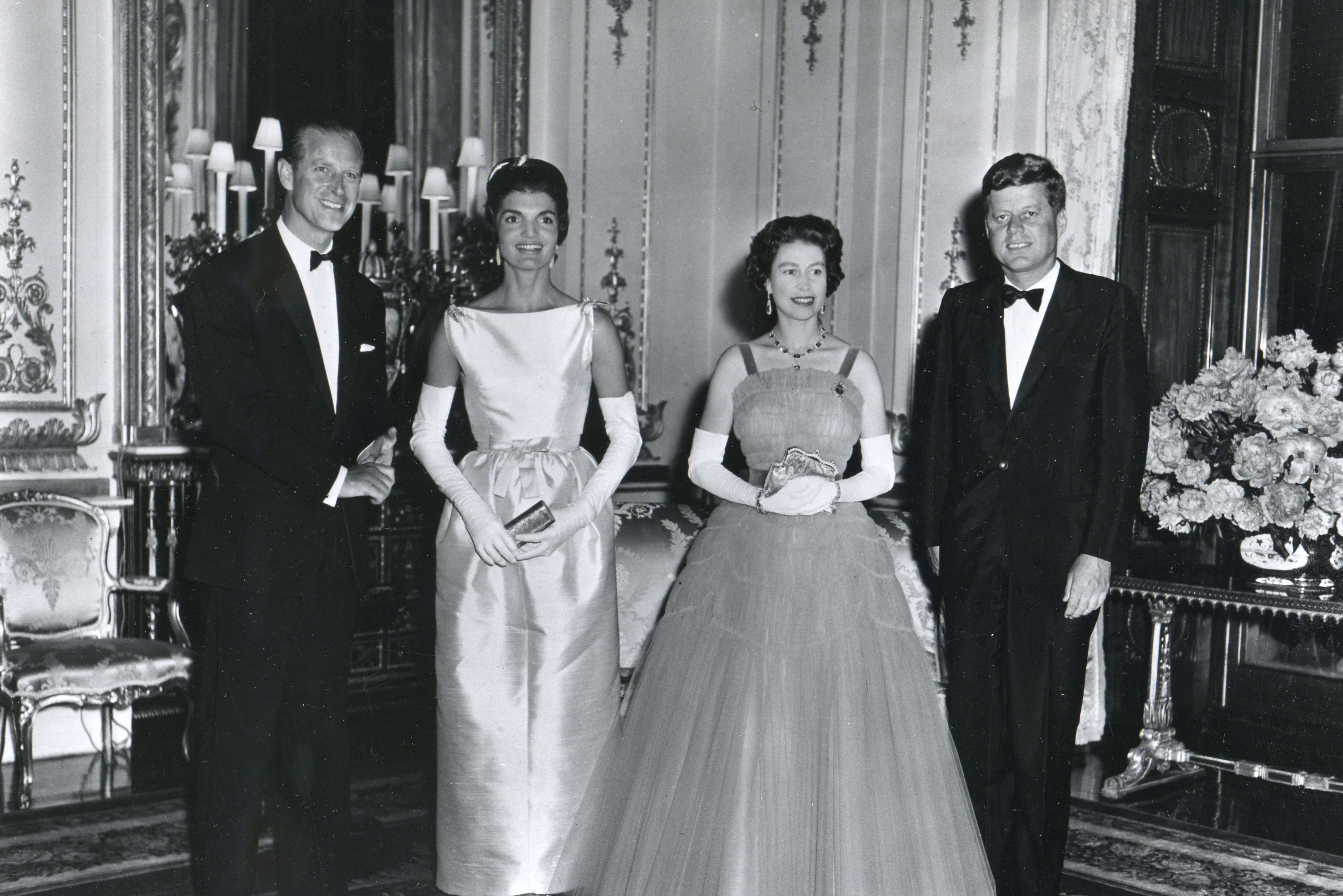 WATCH: Here's What Happened When Jackie Kennedy Met The Queen