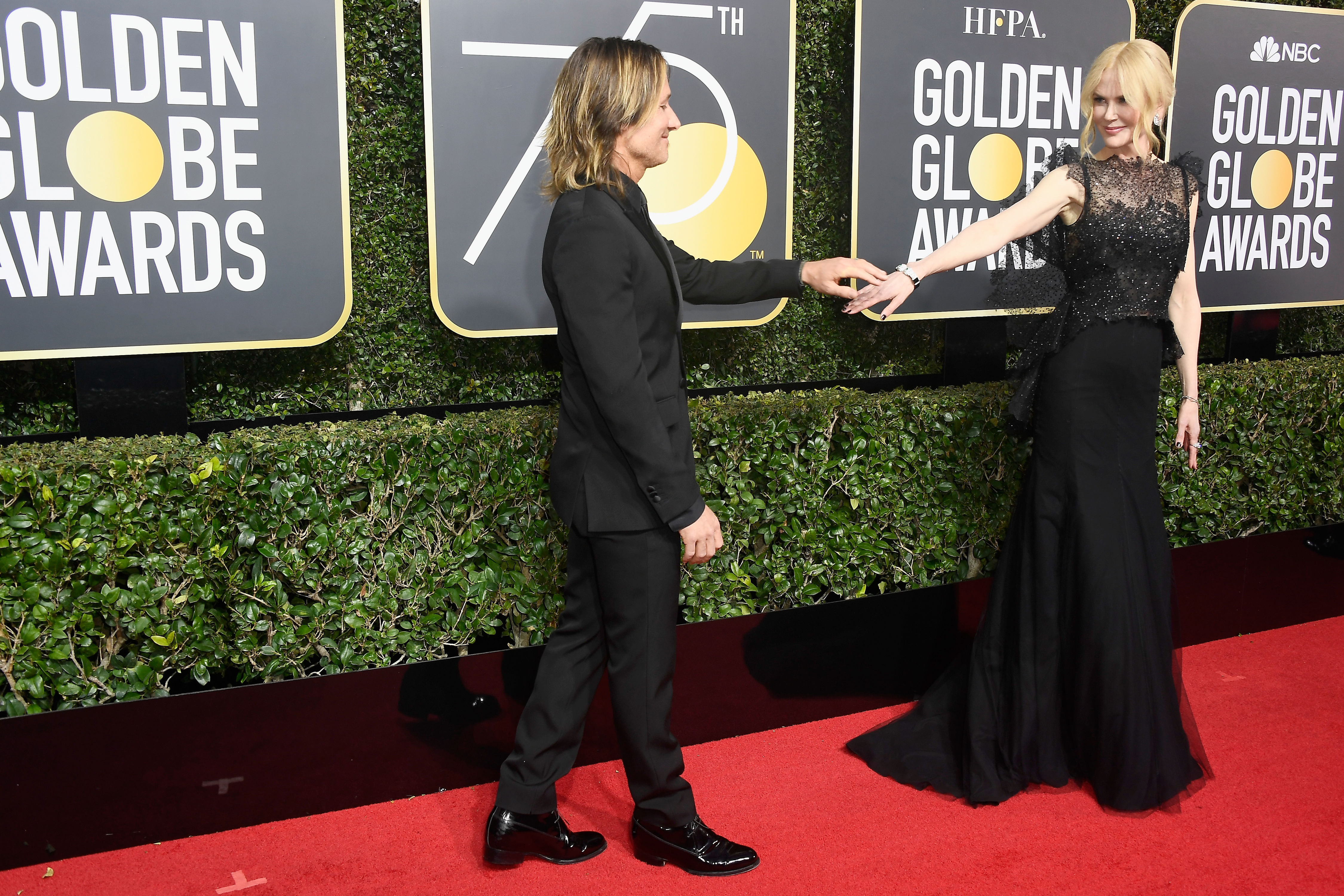 """Nicole Kidman Expresses Love for Keith Urban in Golden Globes Speech: """"When My Cheek Is Against Yours, Everything Melts Away"""""""