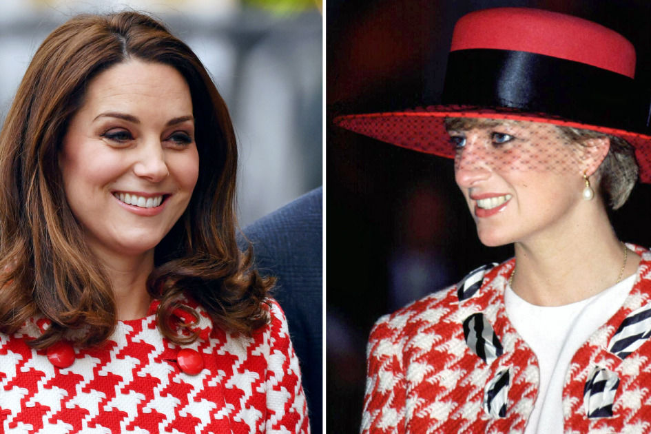 Kate Middleton Perfectly Channels Princess Diana in One of Her Favorite Looks From the '90s