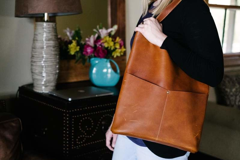 The Pioneer Woman's Leather Tote Is The Only Bag You'll Ever Need