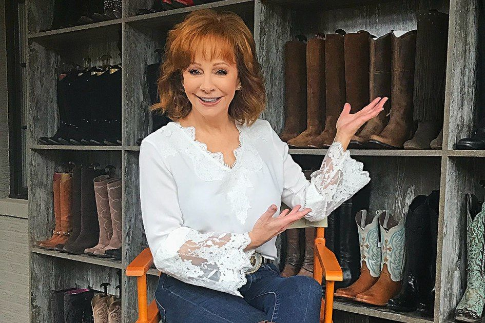 See Reba McEntire's Epic Custom Boot Wall in Her Closet: 'I Couldn't Believe I Had 85 Pairs!'