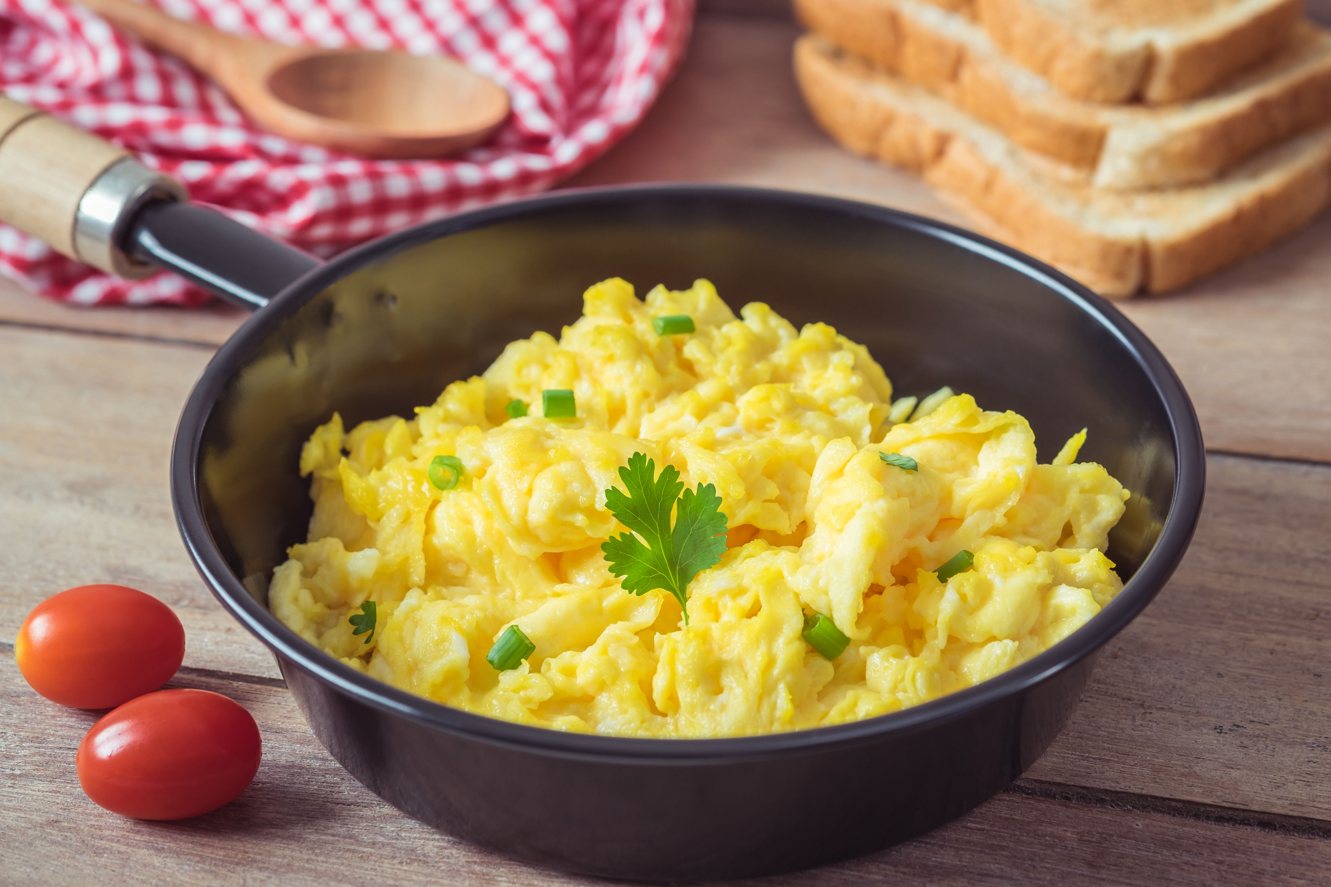 WATCH: Why Adding Milk To Your Scrambled Eggs Is a Mistake