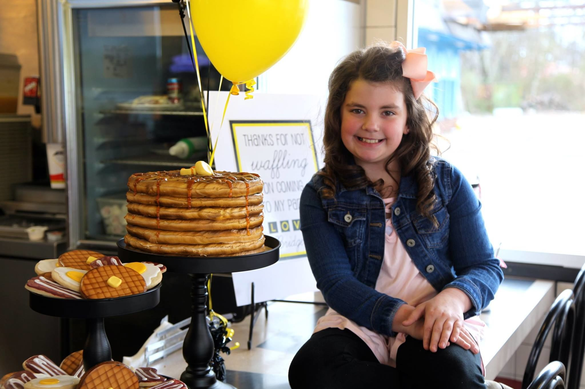 One Tennessee Kiddo Just Had the Most Epic 9th Birthday Party at Waffle House