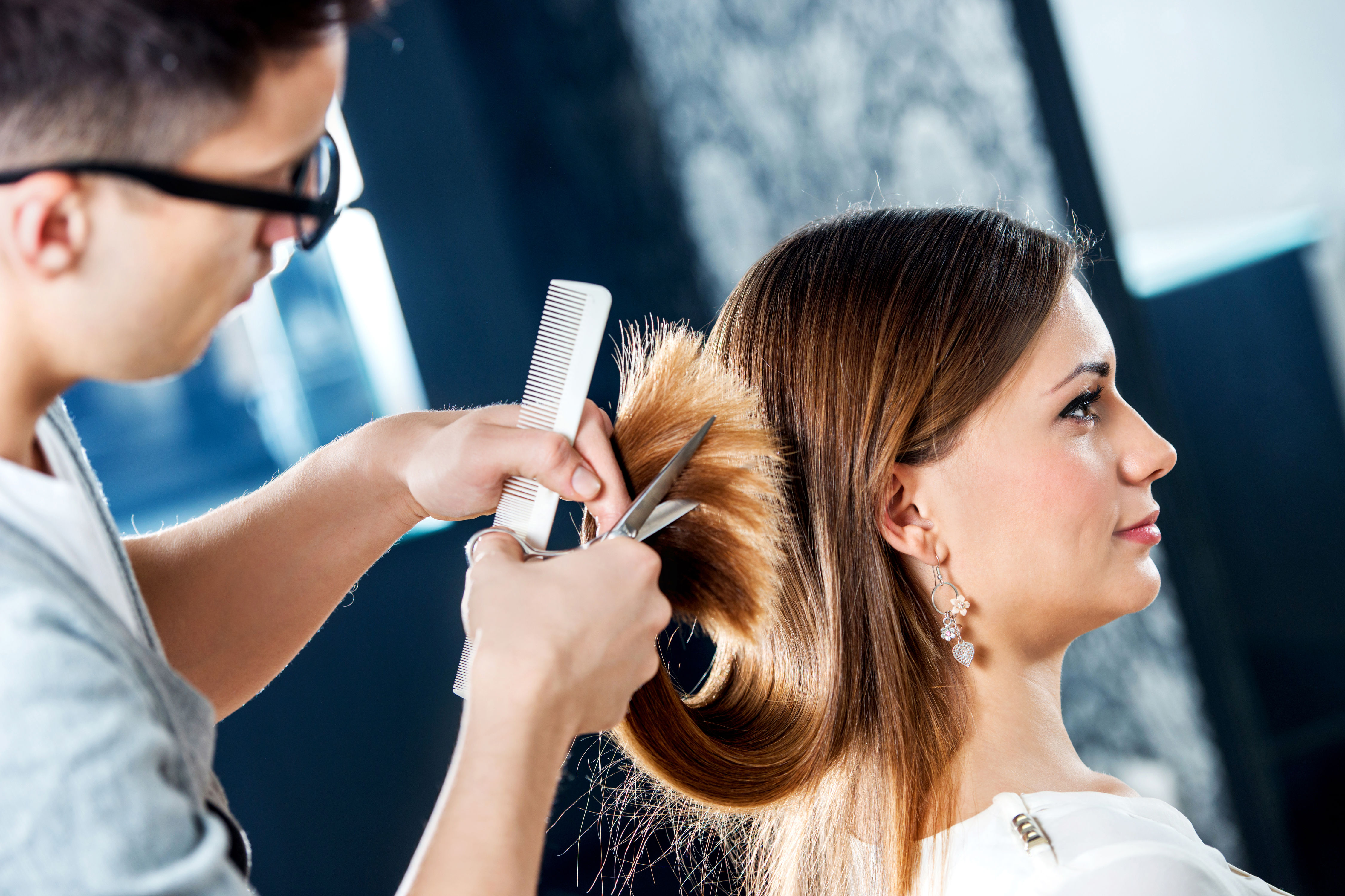 Why We'll Never Get Our Hair Cut Wet Again
