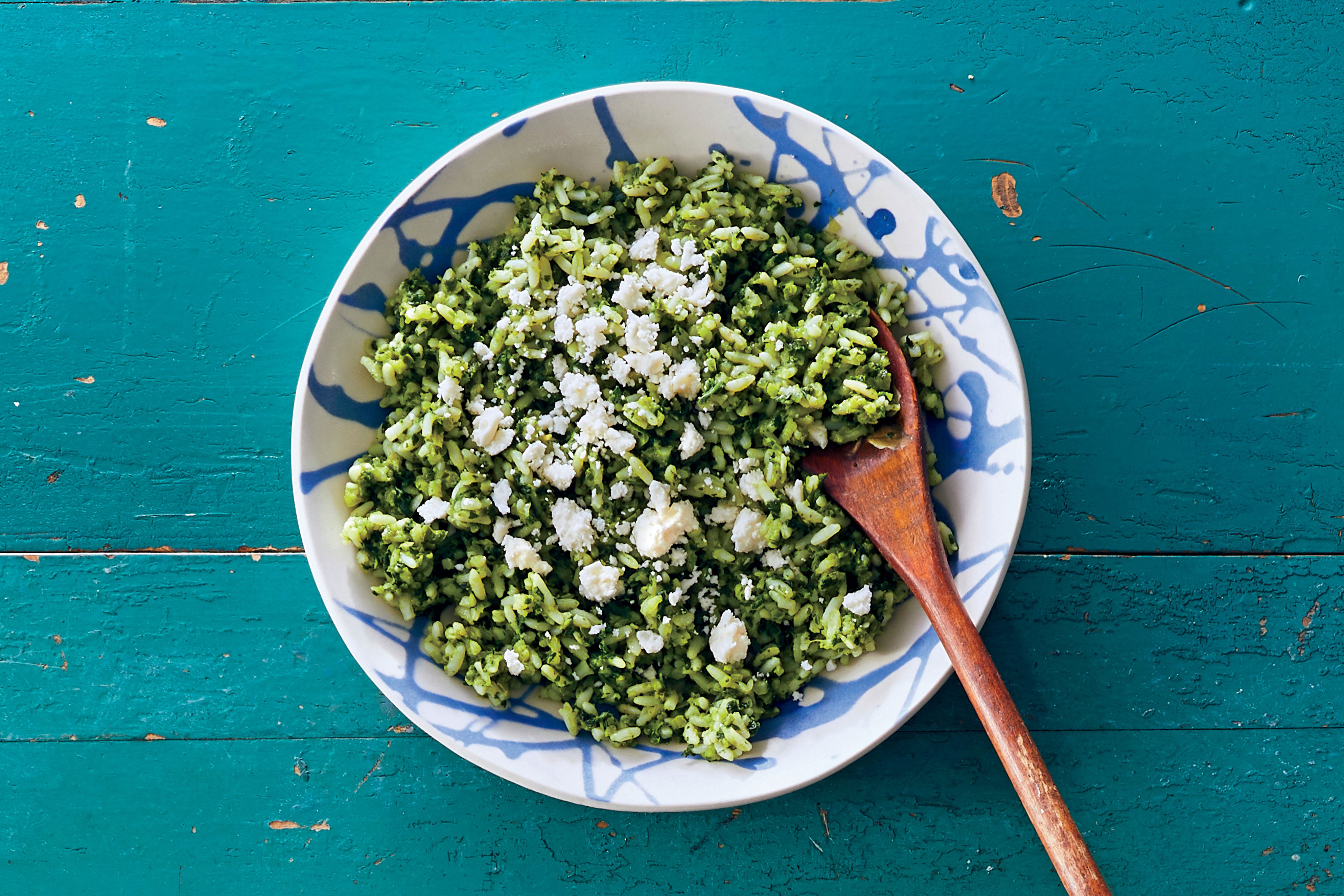 Arroz Verde (Mexican Green Rice) Recipe