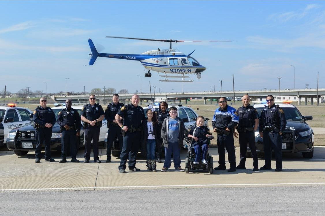 10-Year-Old Boy With Rare Genetic Condition Becomes Fort Worth Police Officer