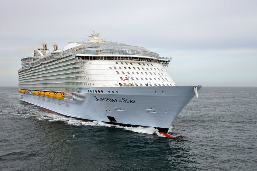 Royal Caribbean's Symphony of the Seas, the World's Largest Cruise Ship, Set to Debut This Month