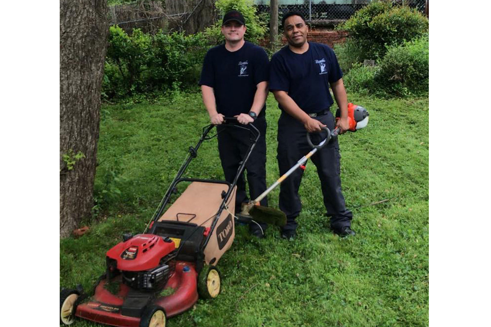 After Responding to Veteran's Call, Alabama Firefighters Return to Mow His Lawn