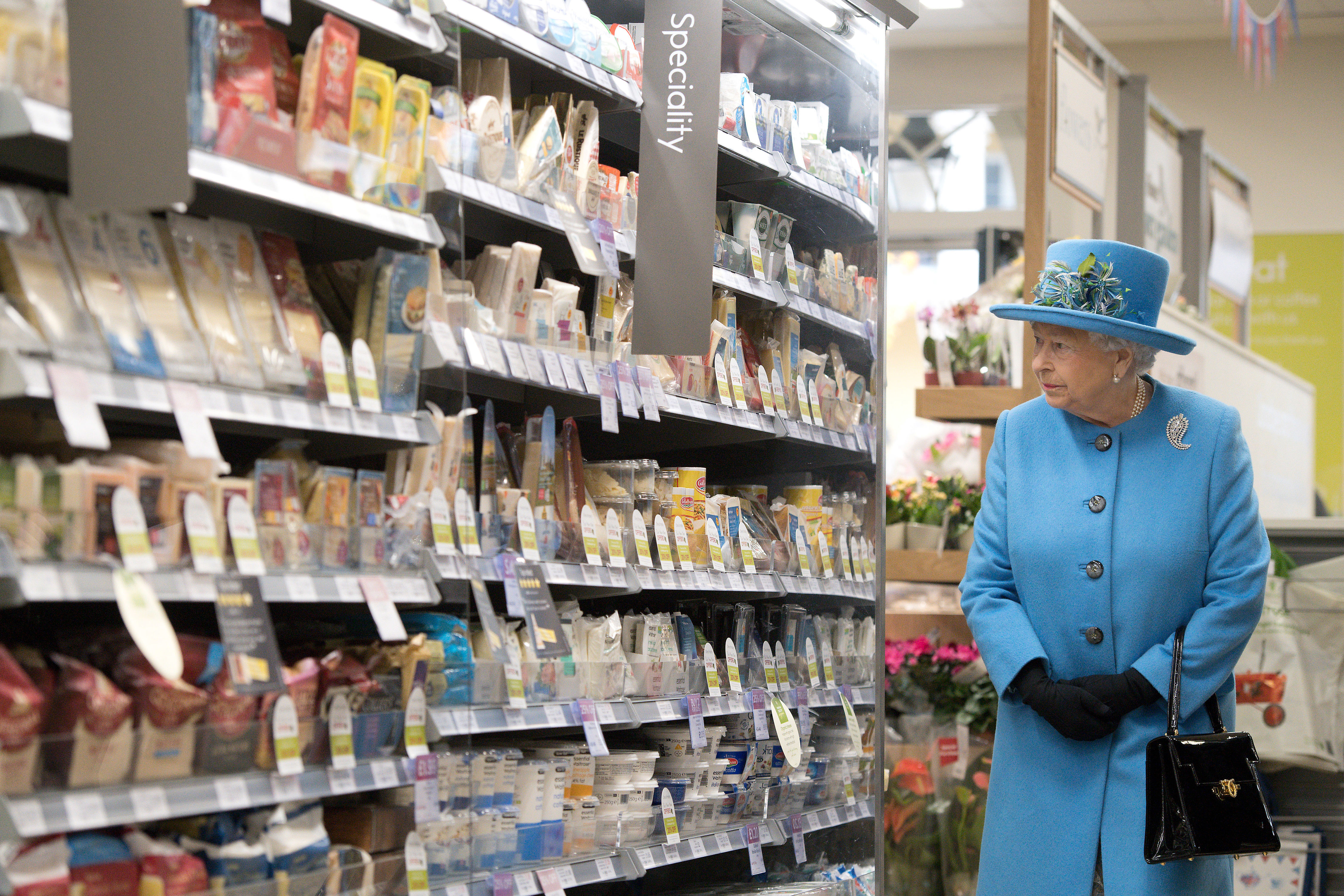 Want To Shop Like The Royal Family? Start At These Grocery Stores