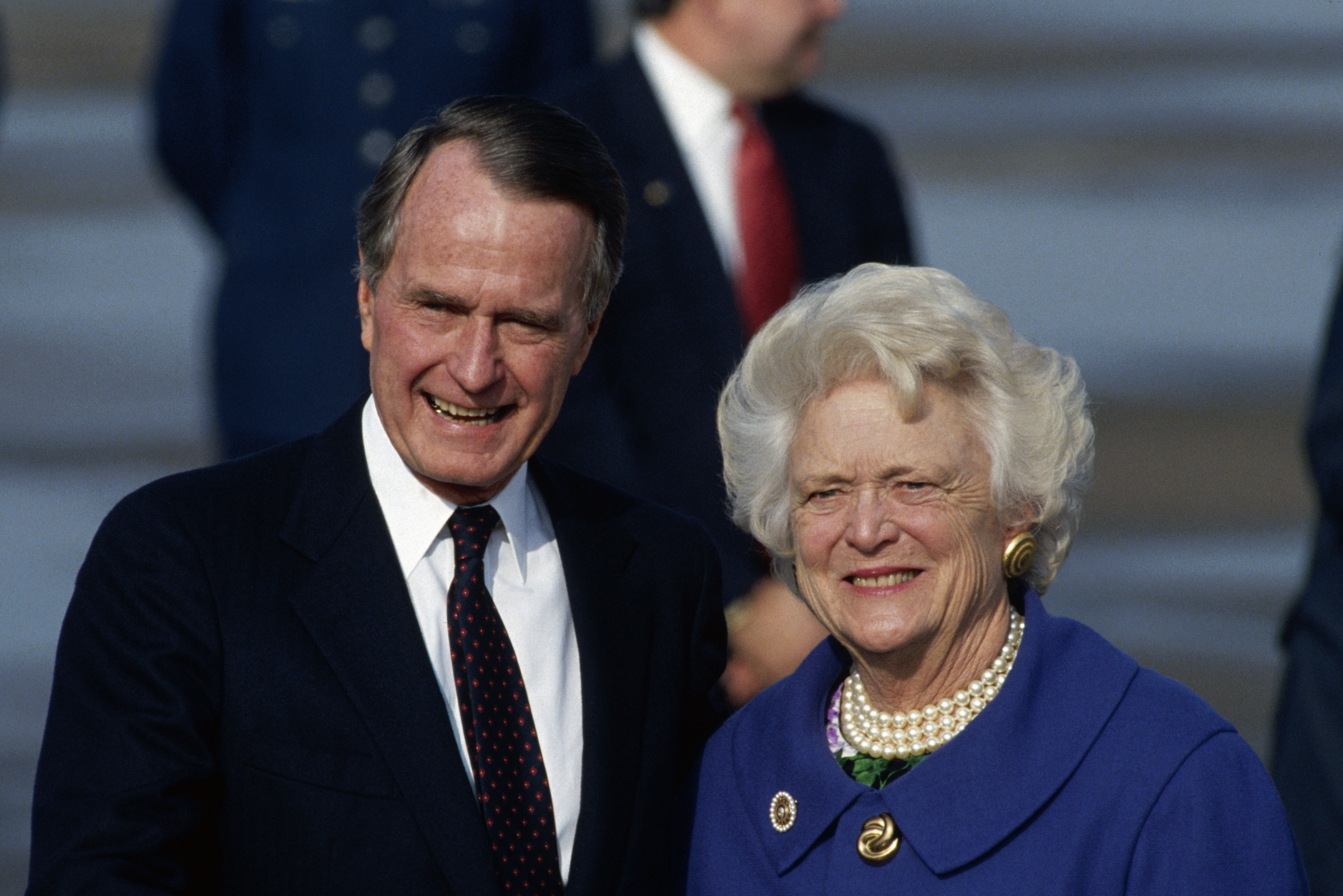How George and Barbara Bush Welcomed the Houstonian Hotel Staff Into Their Family