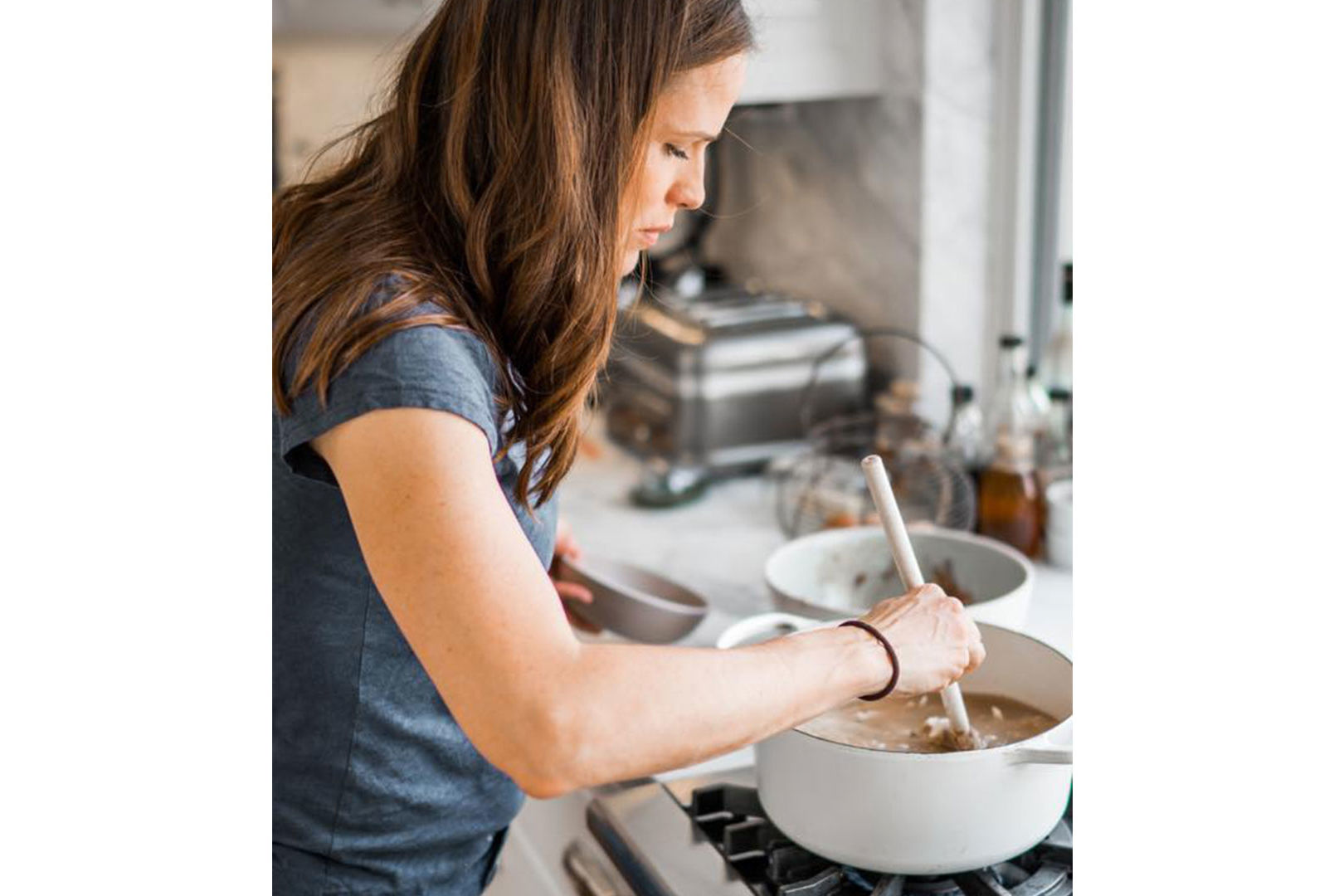 Whatever You Do, Do NOT Tell Ina Garten About Jennifer Garner's Favorite Soup Hack