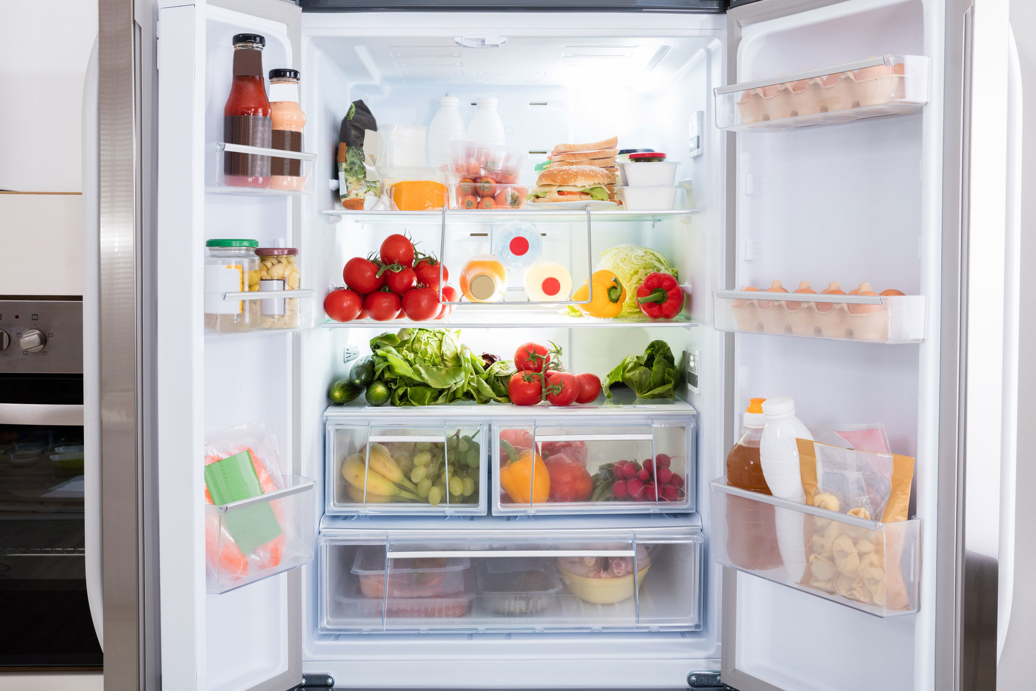 This Genius Trick Will Make More Space in Your Fridge