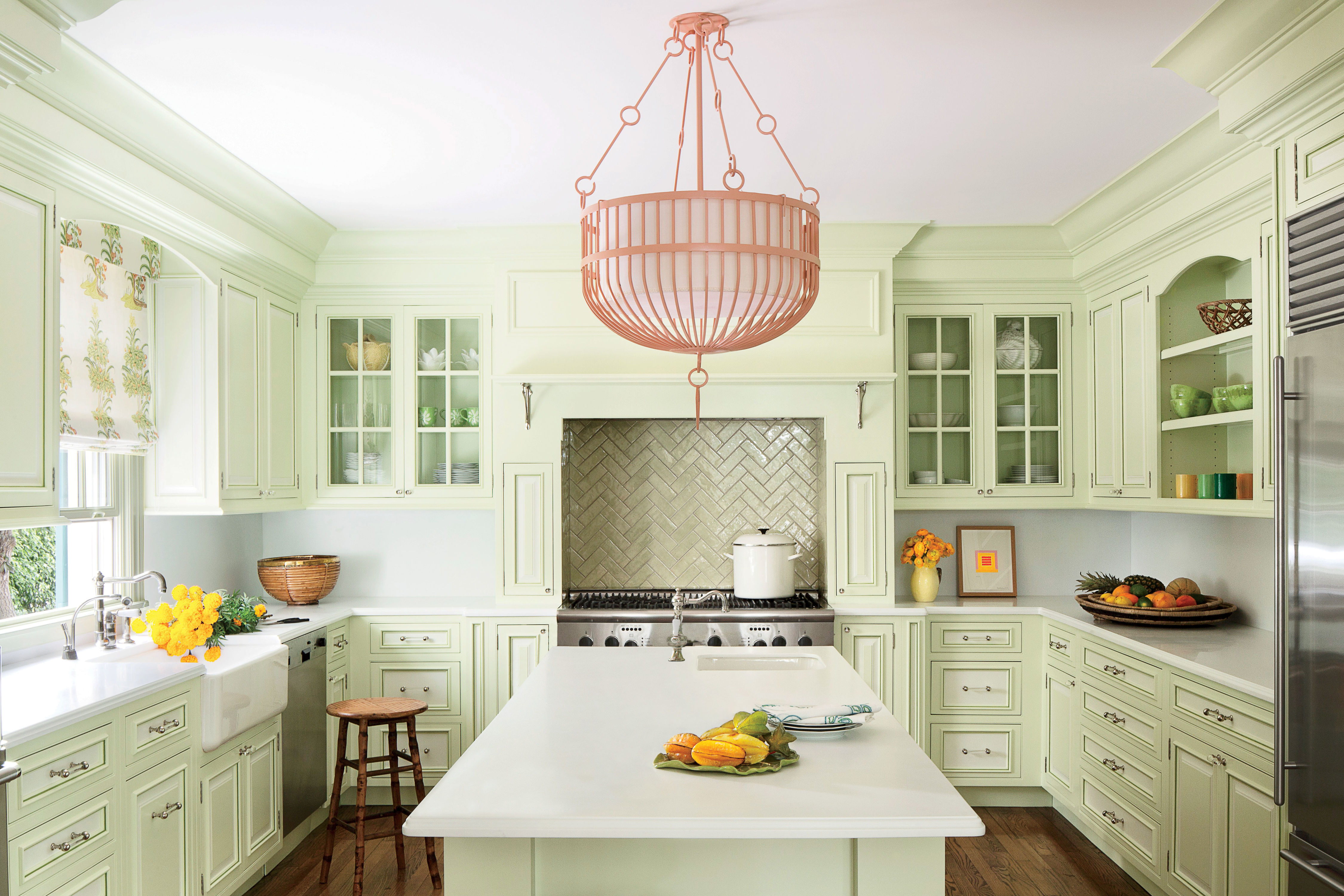 A Colorful Kitchen Trend That's Making a Comeback