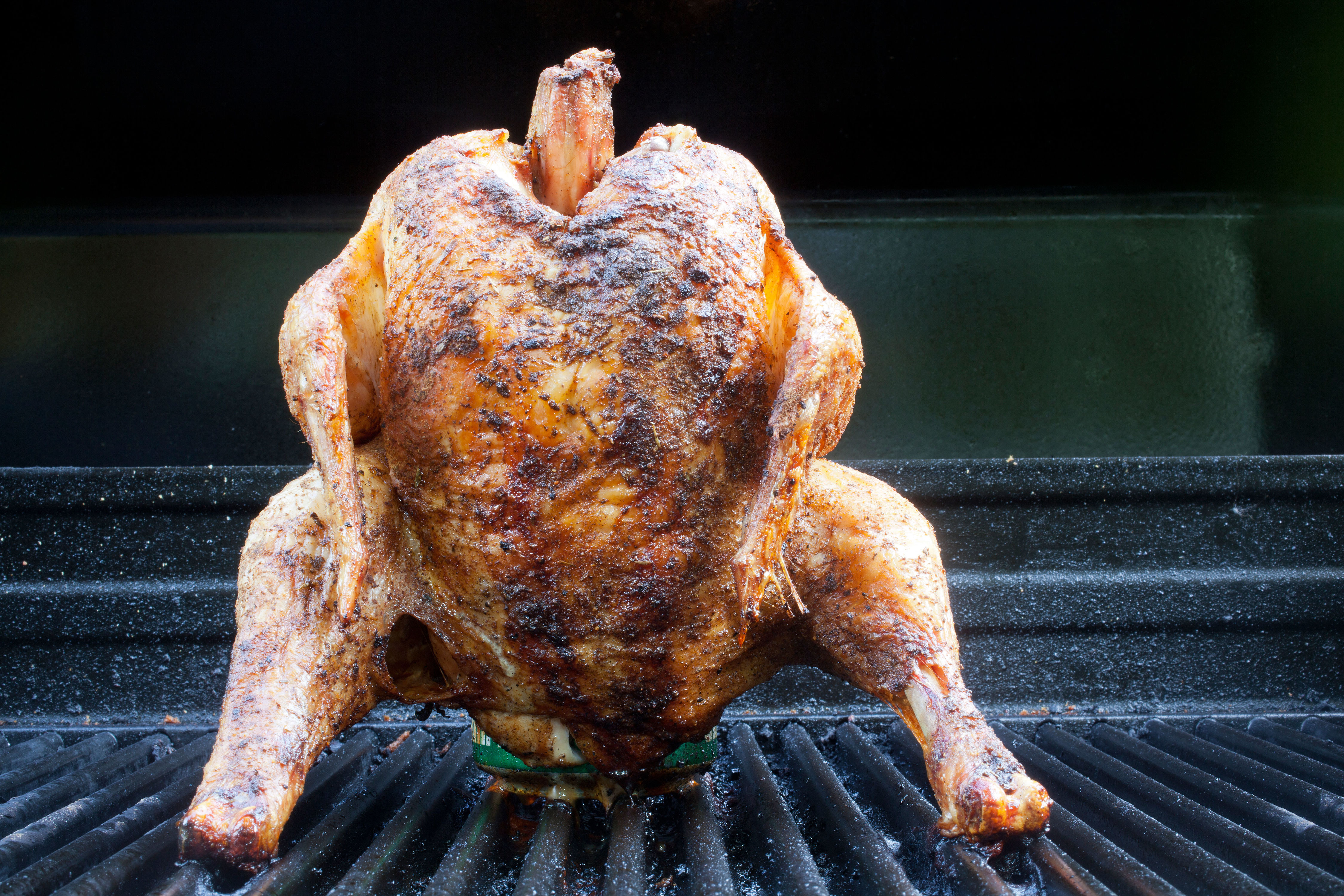 The Secret to Grilling Beer Can Chicken