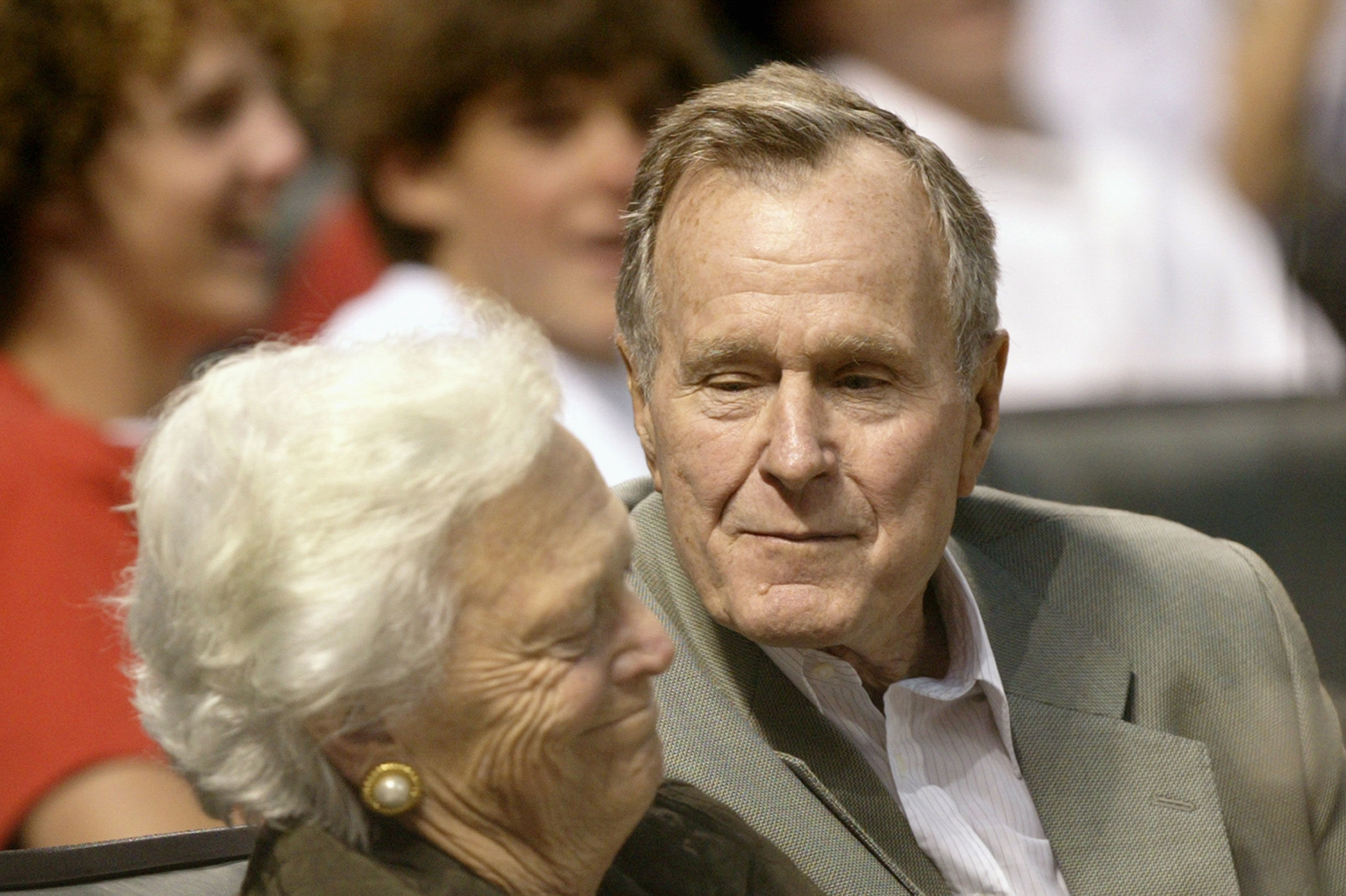 WATCH: George Bush Reportedly Said This to Barbara Every Night During Their 73 Years of Marriage